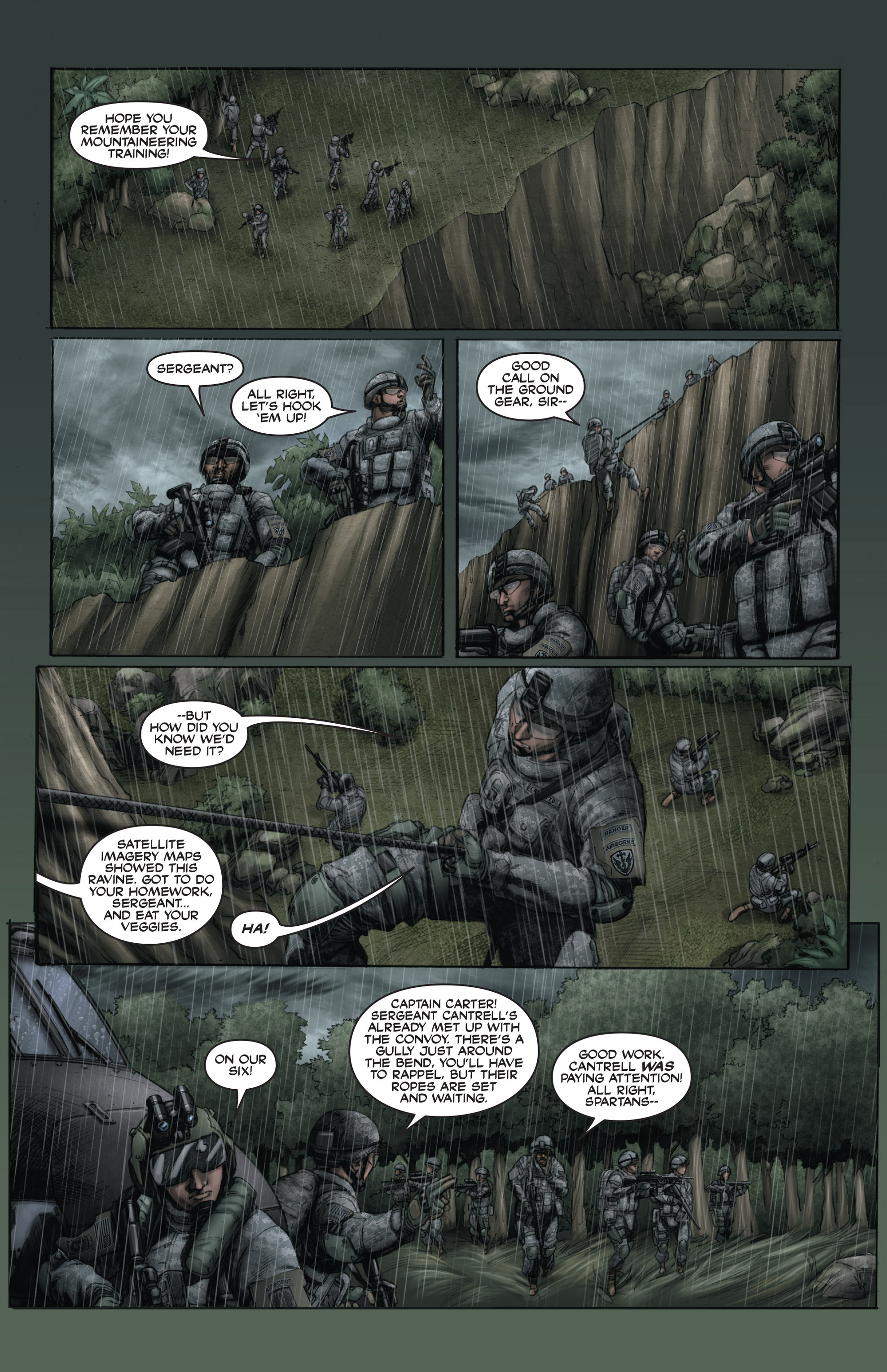 Read online America's Army comic -  Issue #15 - 12