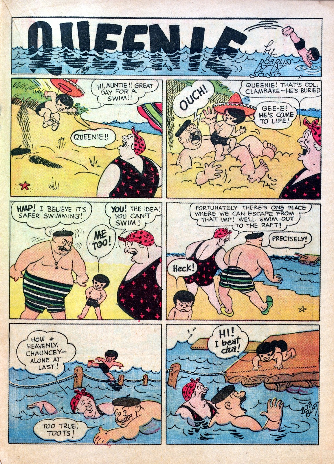 Read online Famous Funnies comic -  Issue #30 - 33
