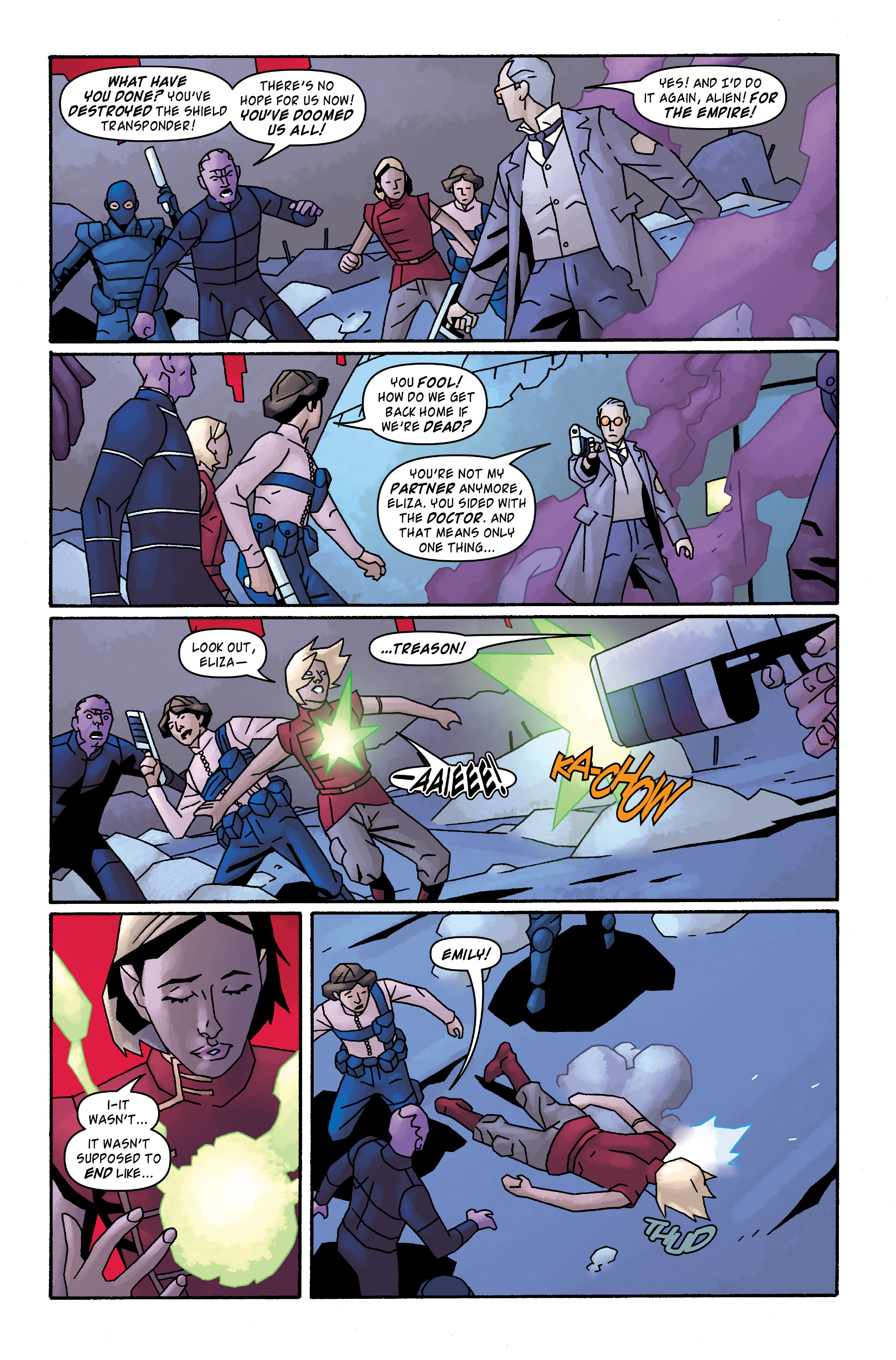 Read online Doctor Who: The Tenth Doctor Archives comic -  Issue #33 - 21