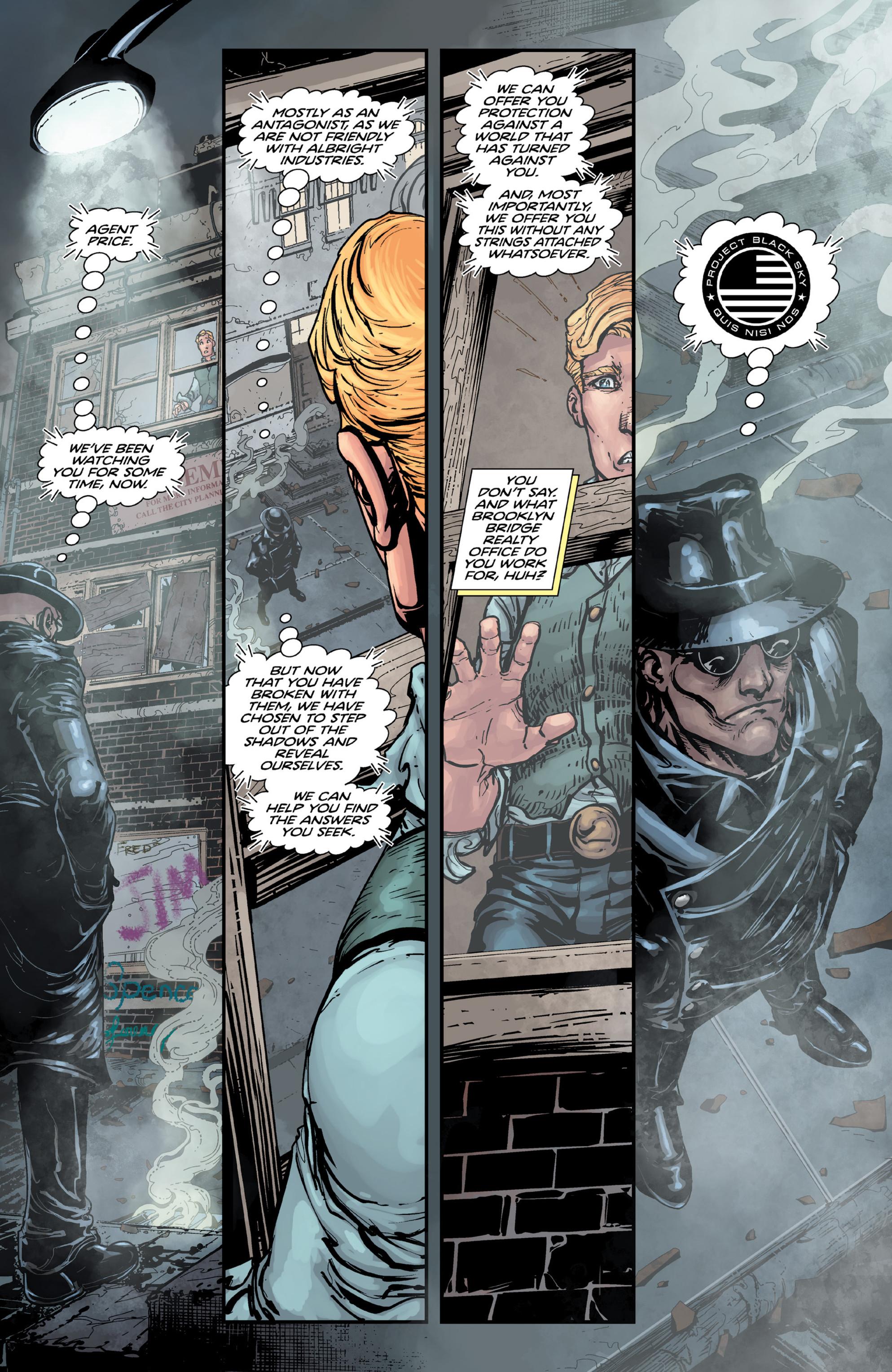 Read online Brain Boy:  The Men from G.E.S.T.A.L.T. comic -  Issue # TPB - 99
