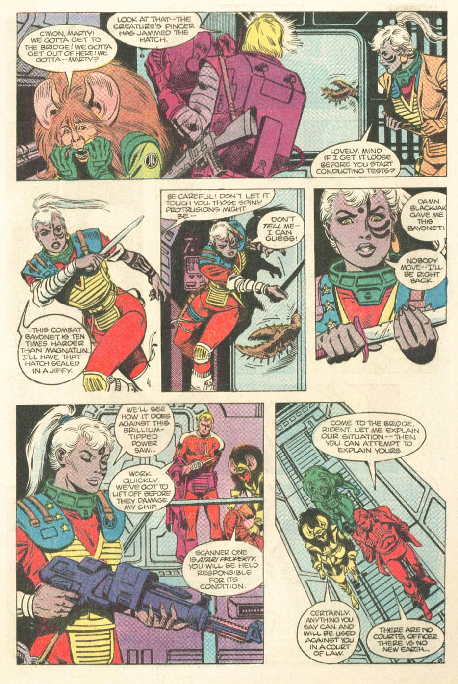 Read online Atari Force (1984) comic -  Issue #15 - 5