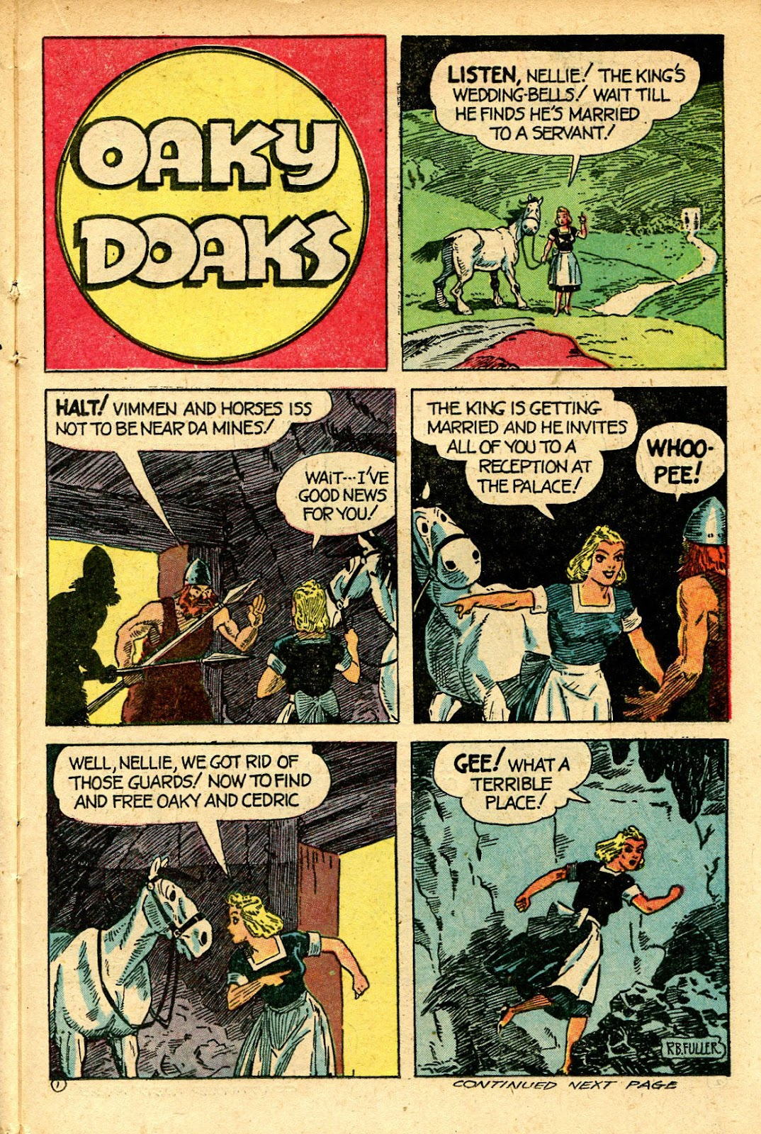 Read online Famous Funnies comic -  Issue #129 - 35