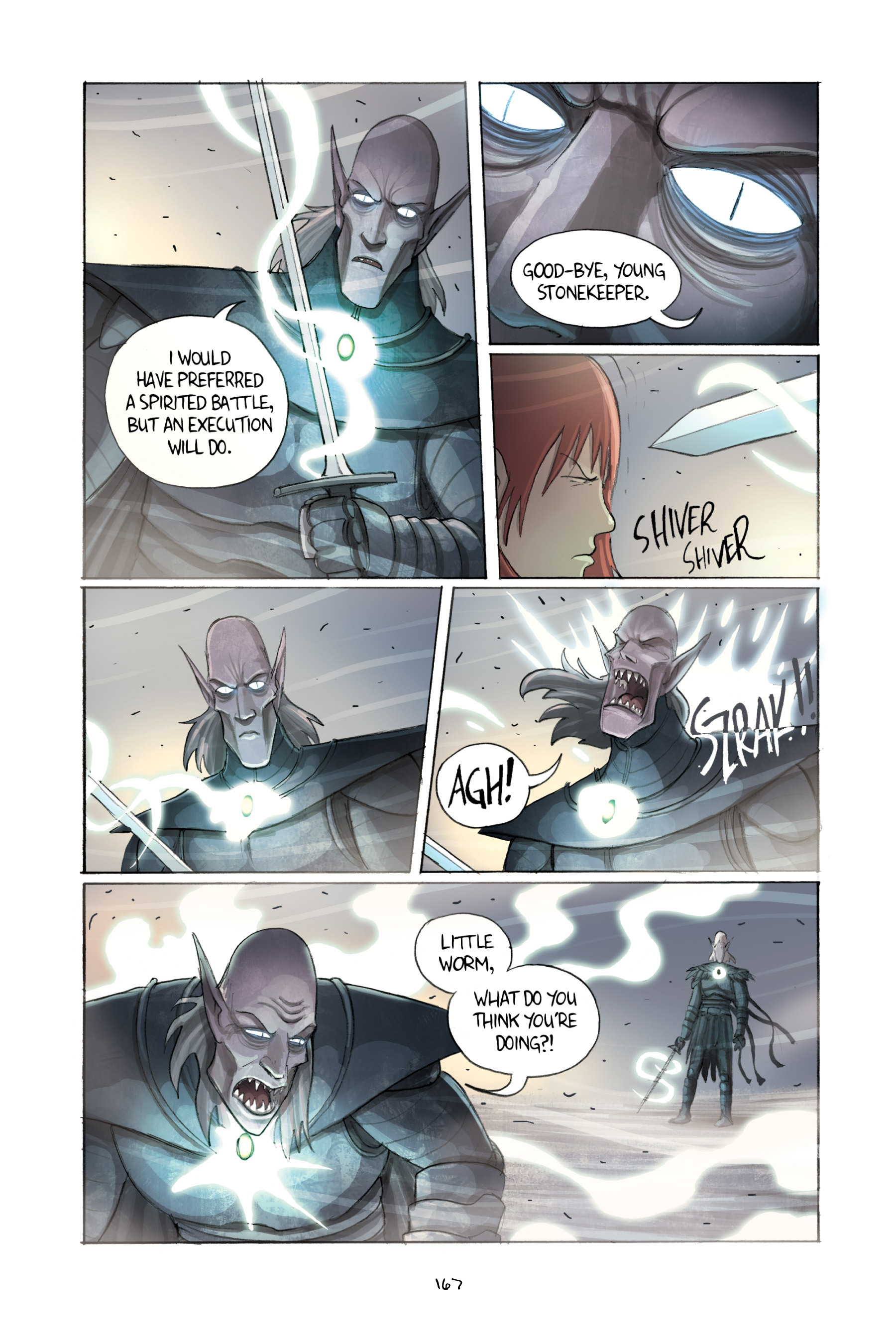 Read online Amulet comic -  Issue #2 - 166