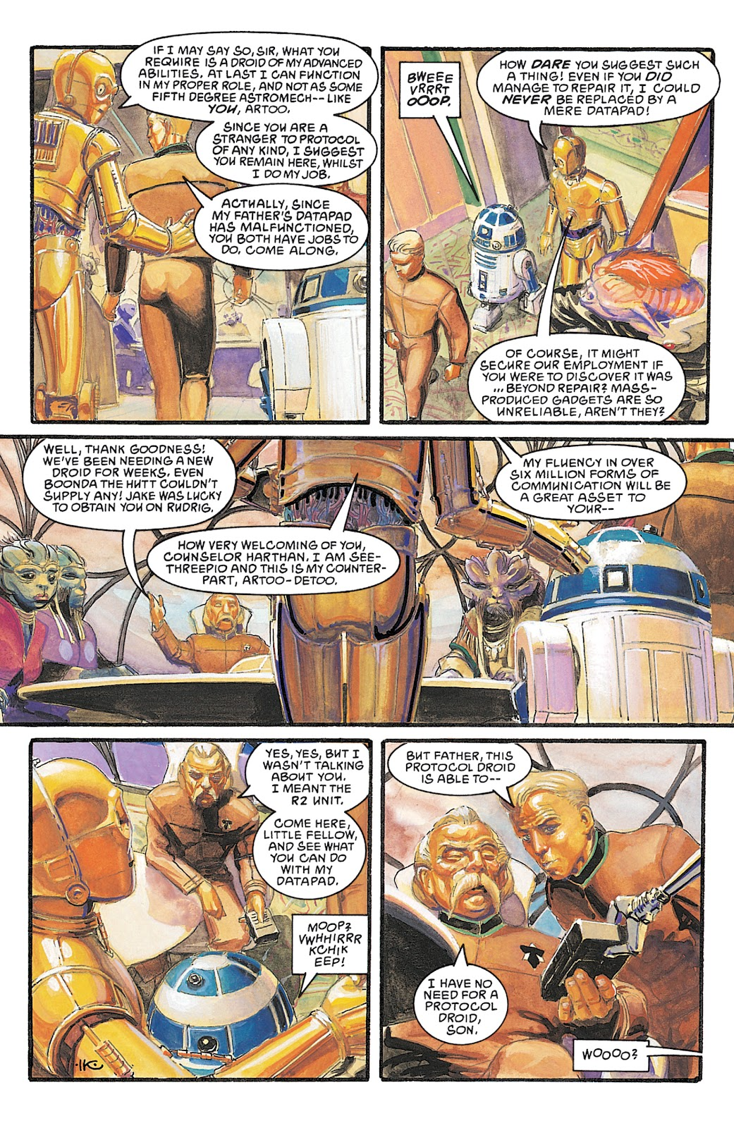 Read online Star Wars Legends Epic Collection: The Empire comic -  Issue # TPB 5 (Part 4) - 94