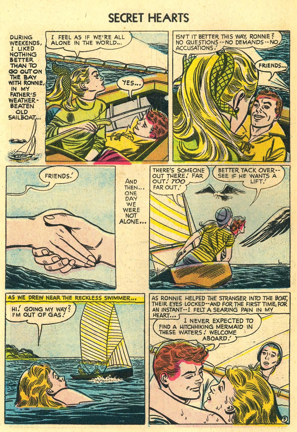 Read online Secret Hearts comic -  Issue #30 - 30