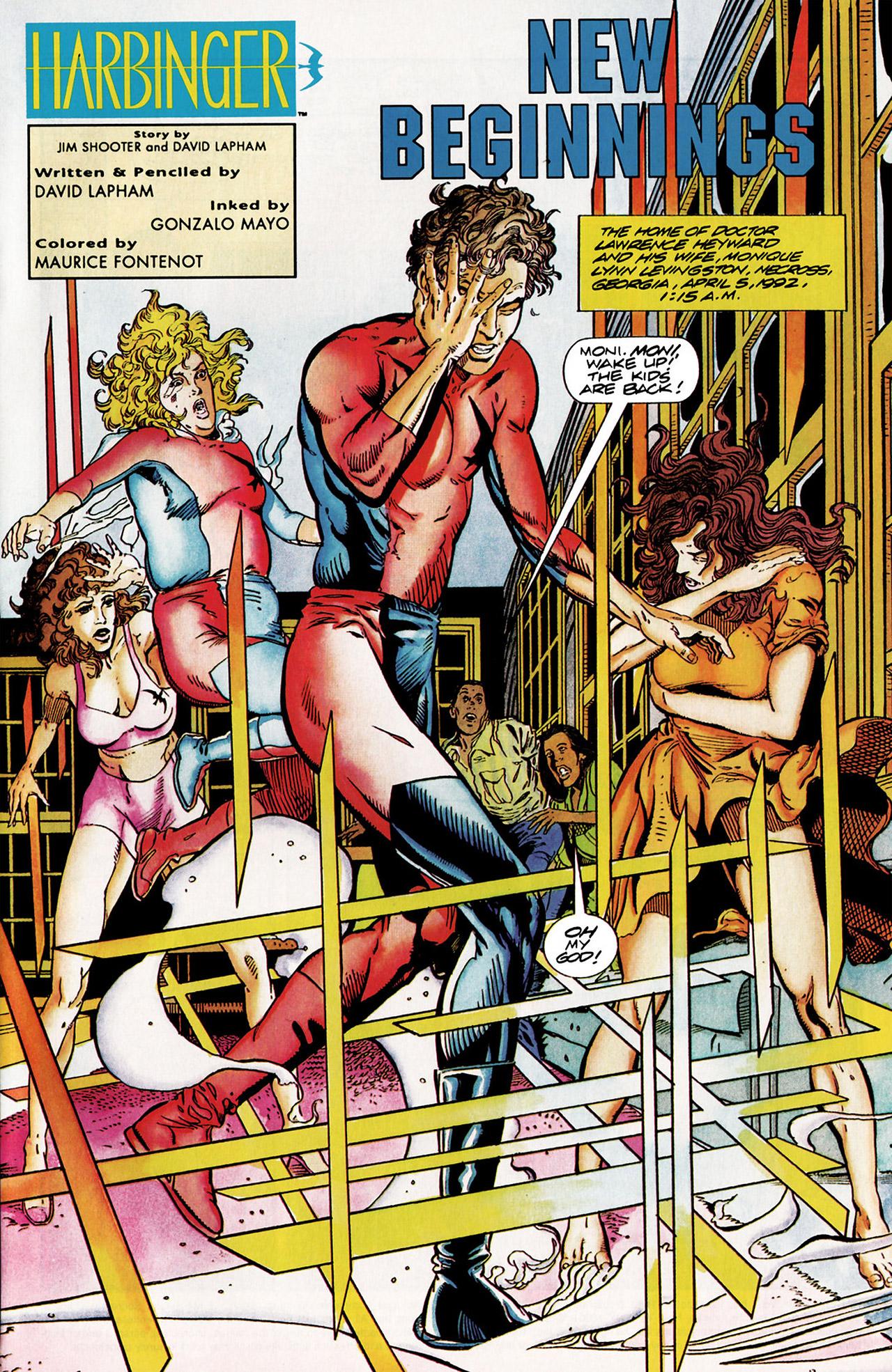 Read online Harbinger (1992) comic -  Issue #10 - 2