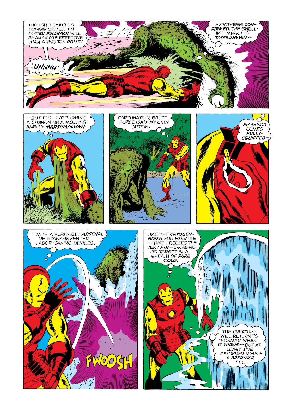 Read online Marvel Masterworks: The Invincible Iron Man comic -  Issue # TPB 11 (Part 2) - 42