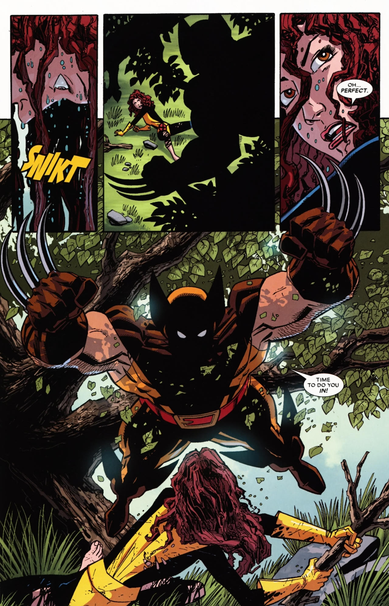 Read online Wolverine: First Class comic -  Issue #21 - 19