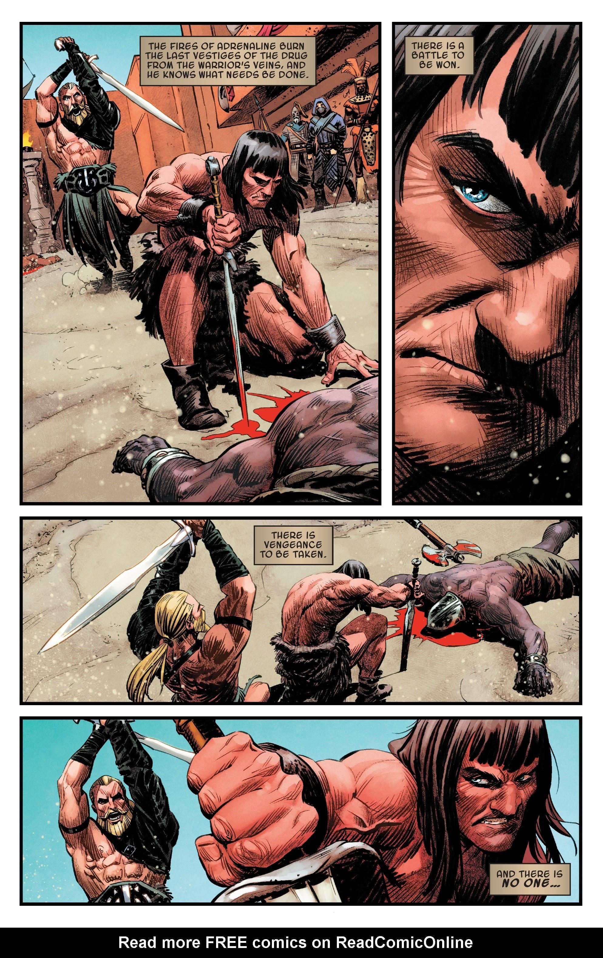 Read online Savage Sword of Conan comic -  Issue #6 - 15