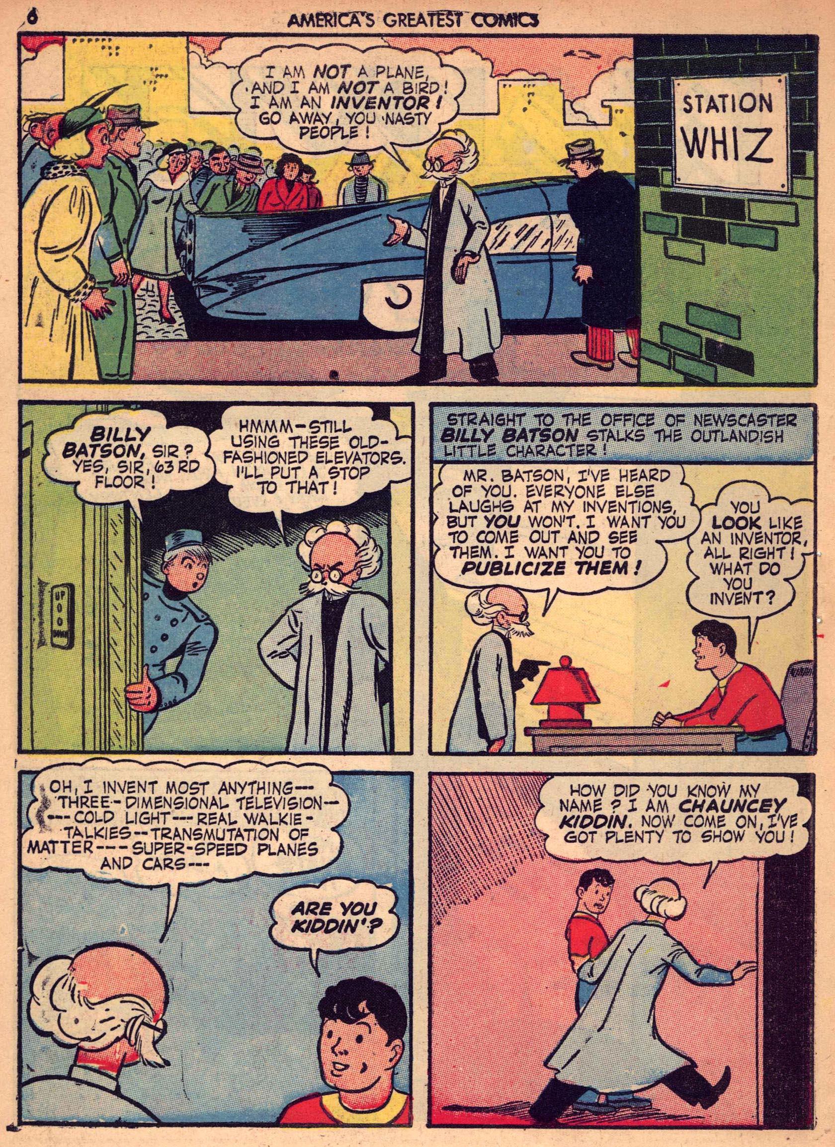 Read online America's Greatest Comics comic -  Issue #7 - 5