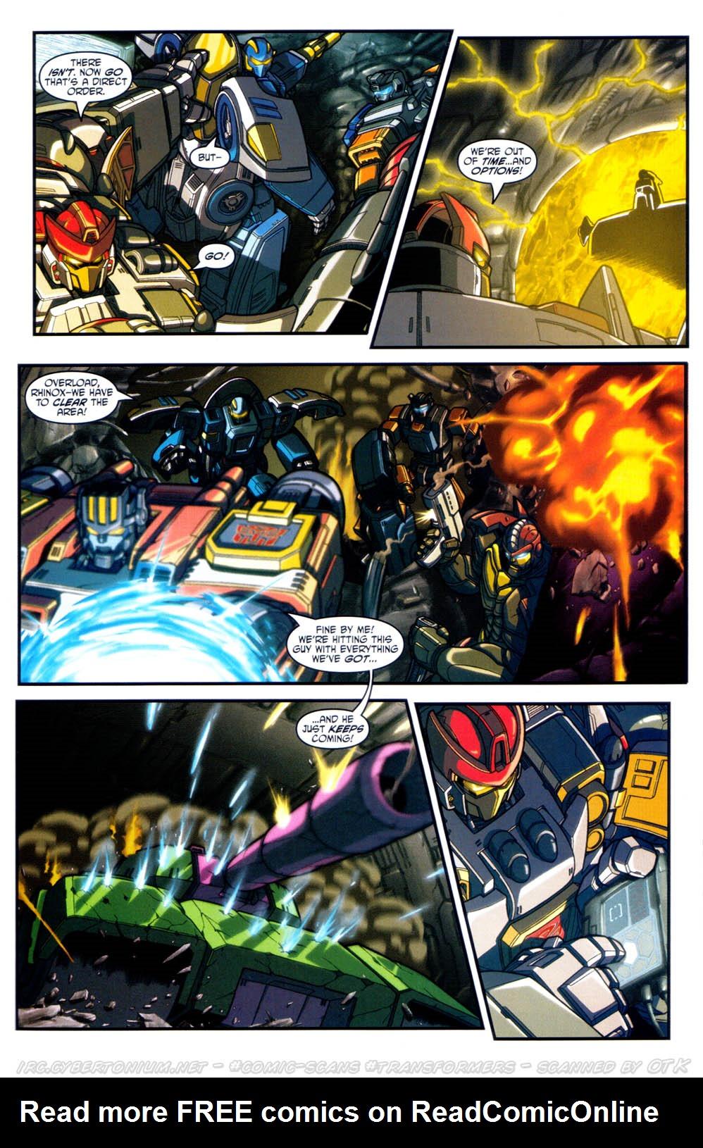 Read online Transformers Armada comic -  Issue #17 - 15