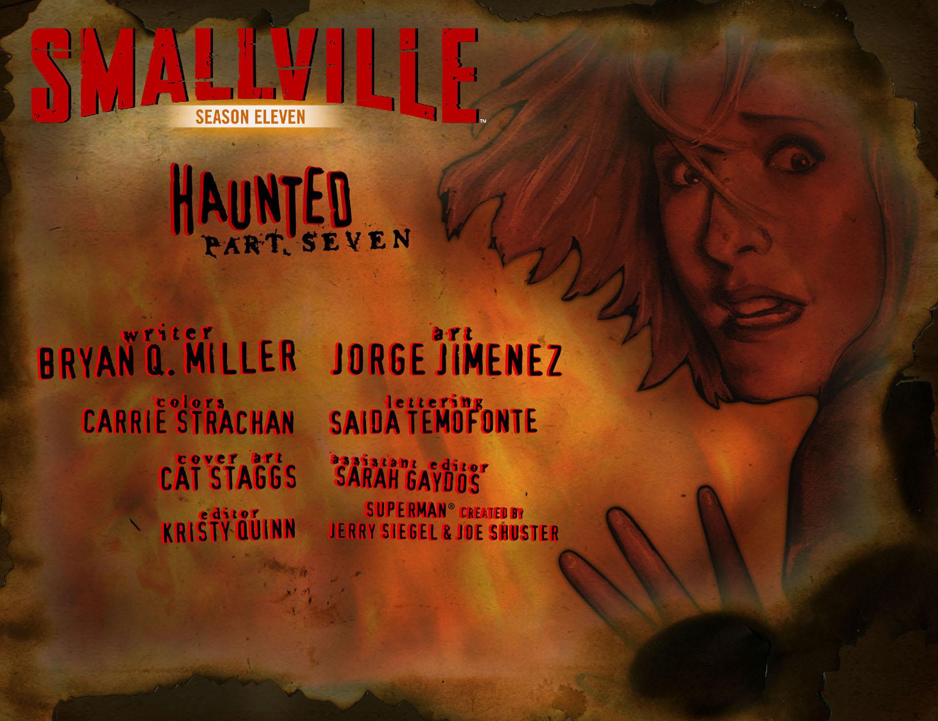 Read online Smallville: Season 11 comic -  Issue #33 - 2
