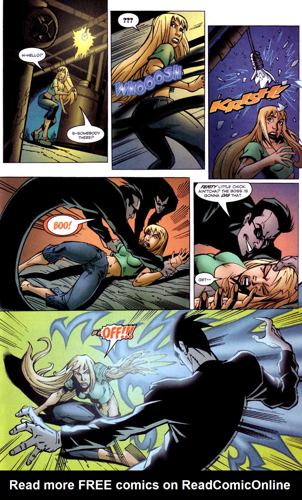 Read online Jezebelle comic -  Issue #2 - 18