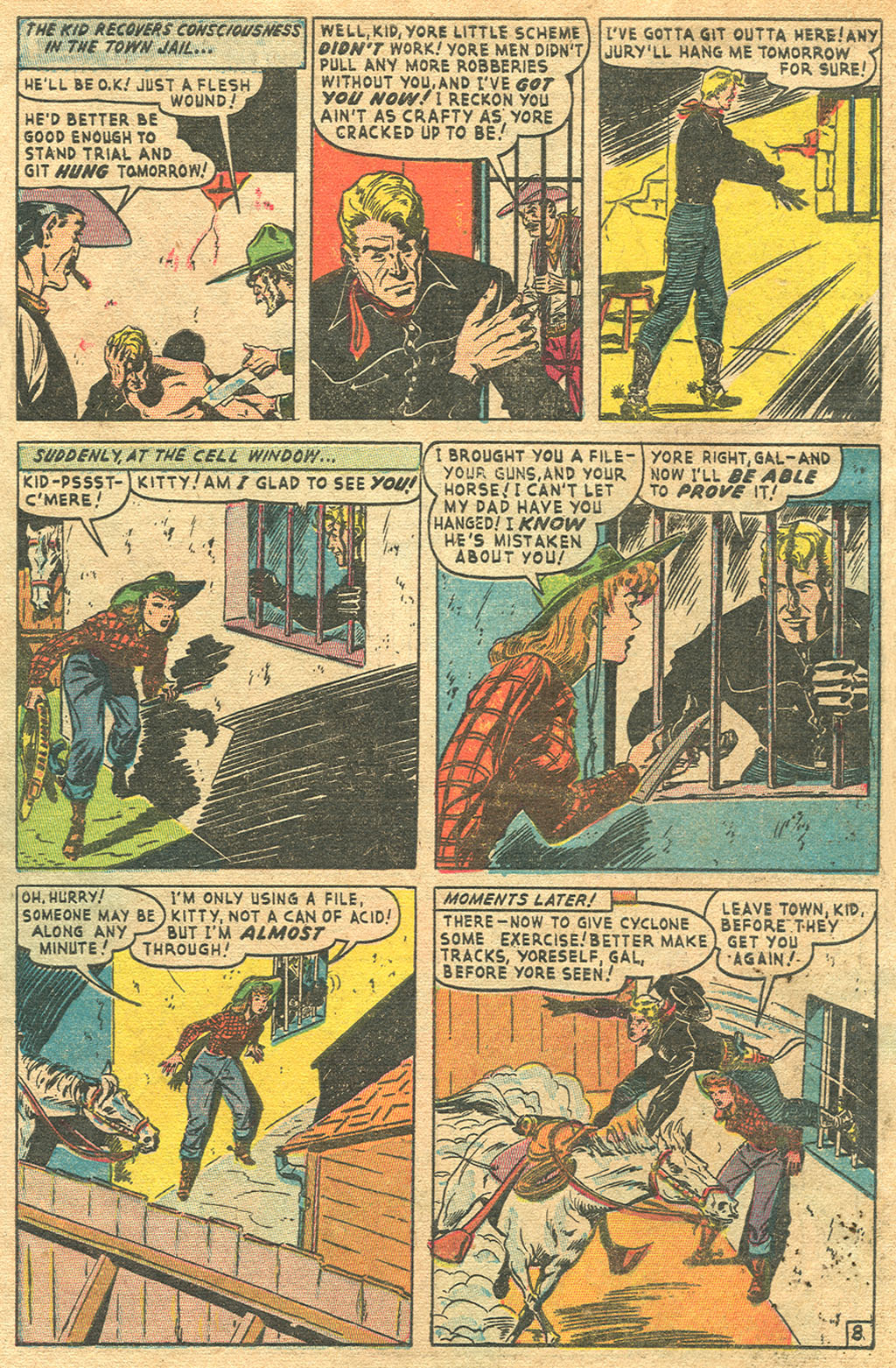 Read online Two-Gun Kid comic -  Issue #1 - 29
