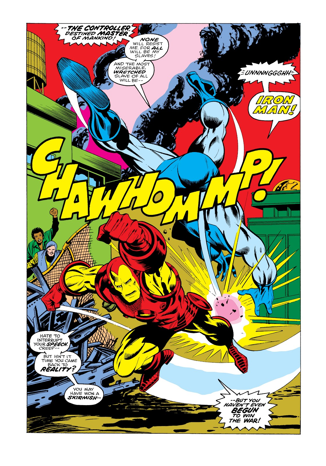 Read online Marvel Masterworks: The Invincible Iron Man comic -  Issue # TPB 11 (Part 3) - 23