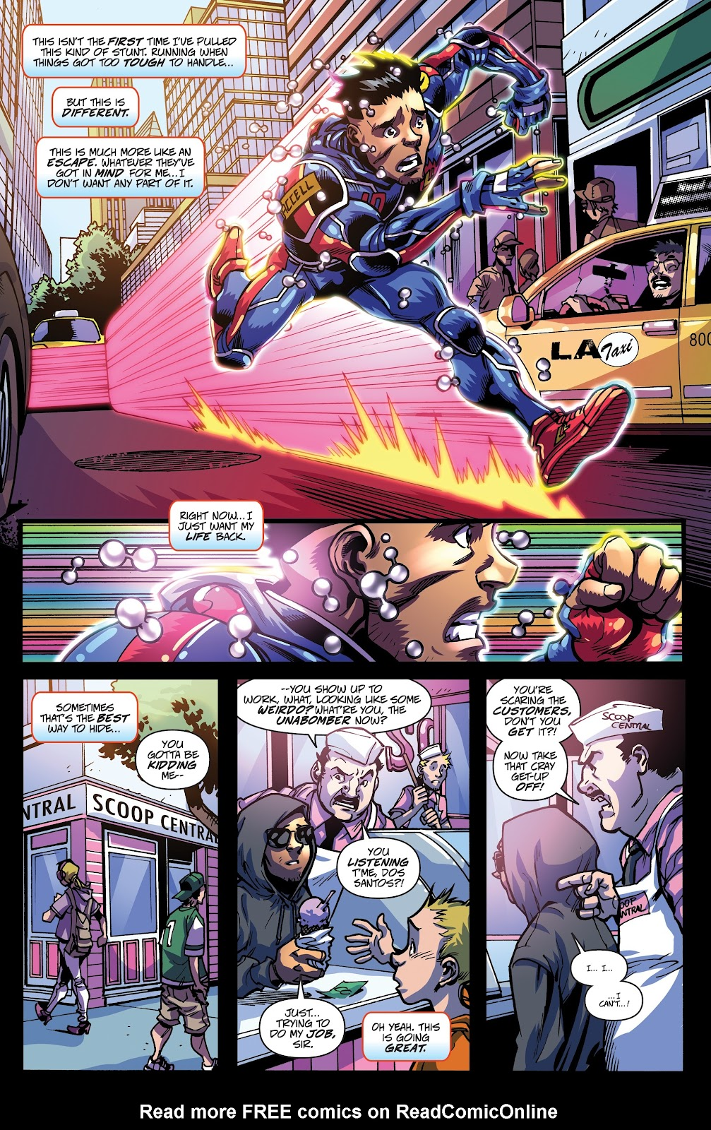 Read online Accell comic -  Issue #17 - 9