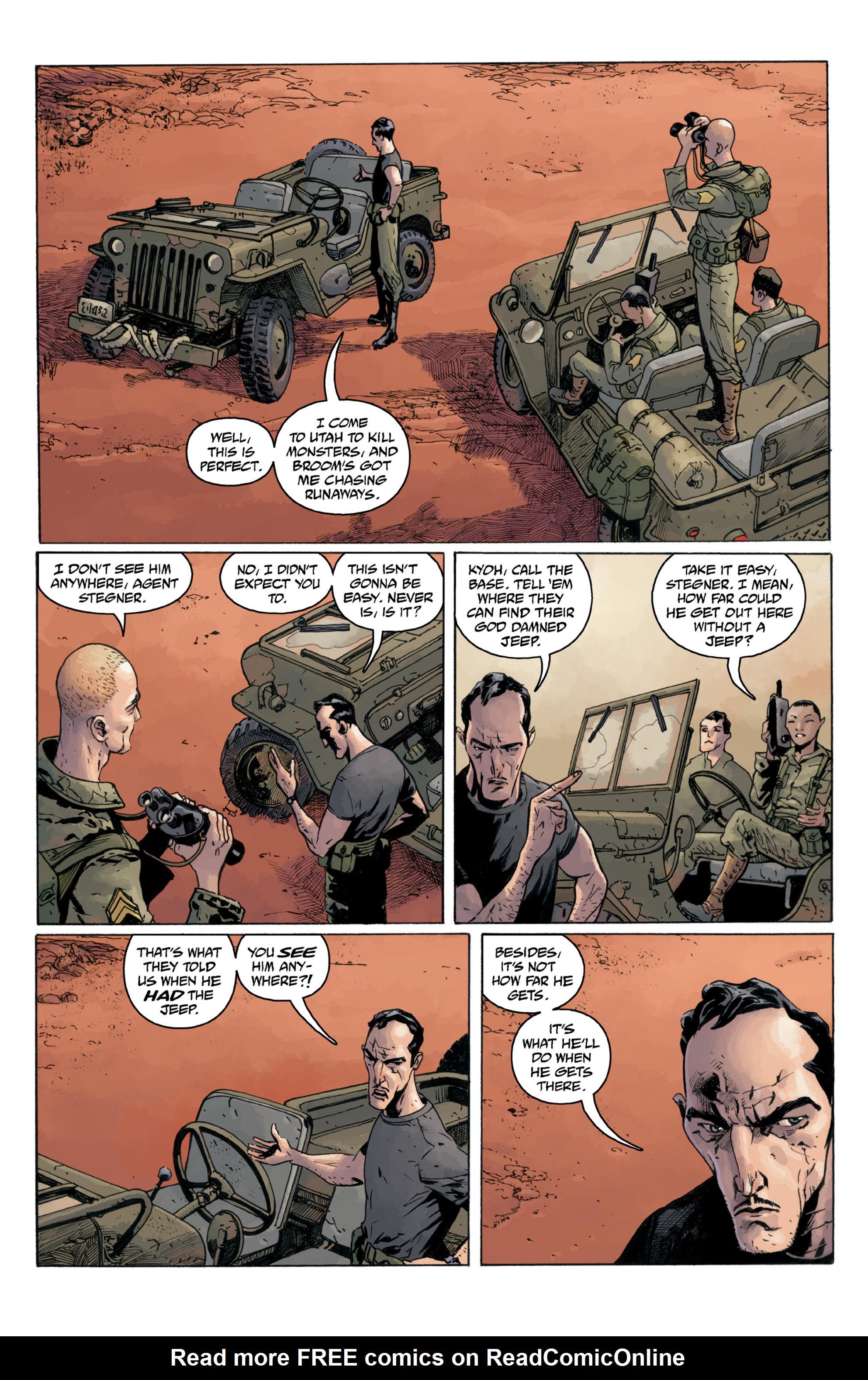 Read online B.P.R.D.: 1948 comic -  Issue # TPB - 84