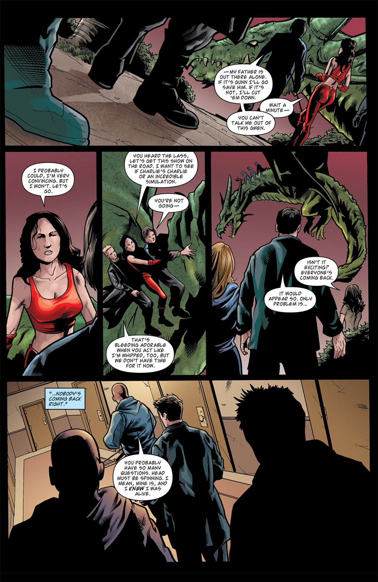 Read online Angel: After The Fall comic -  Issue #11 - 10