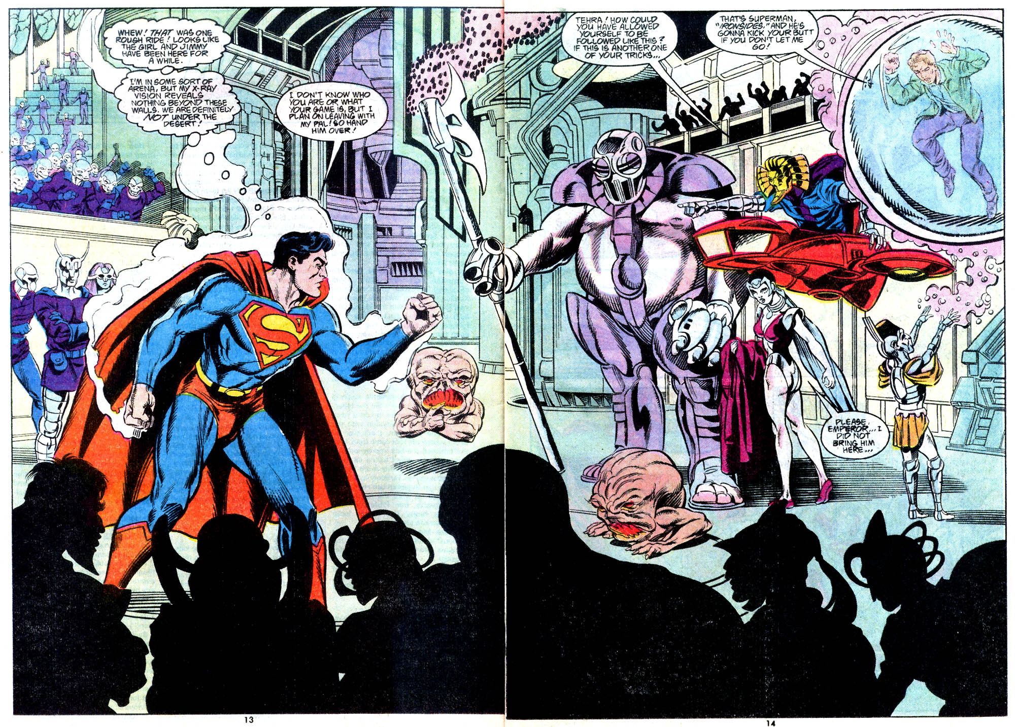 Read online Adventures of Superman (1987) comic -  Issue #443 - 15