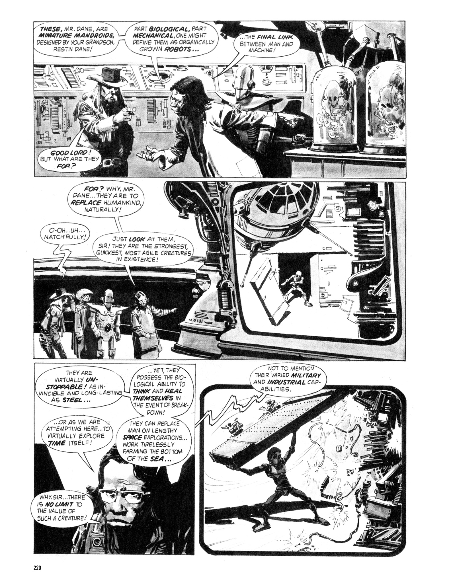 Read online Eerie Archives comic -  Issue # TPB 18 - 217