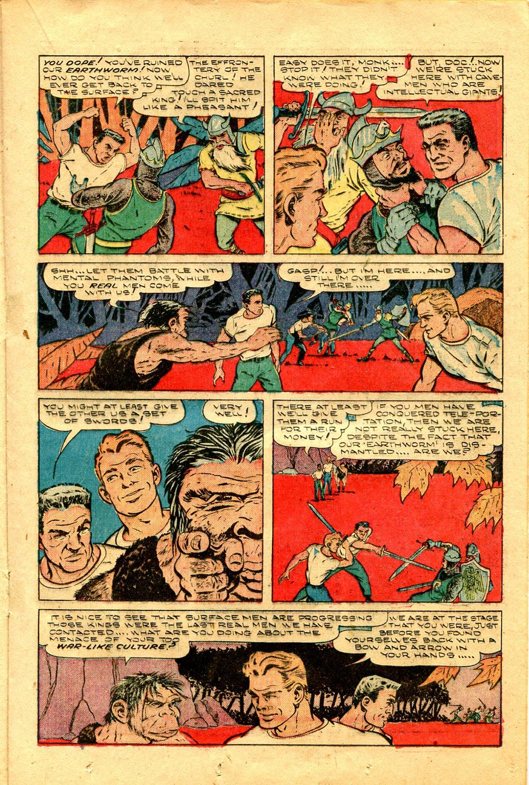 Read online Shadow Comics comic -  Issue #100 - 25