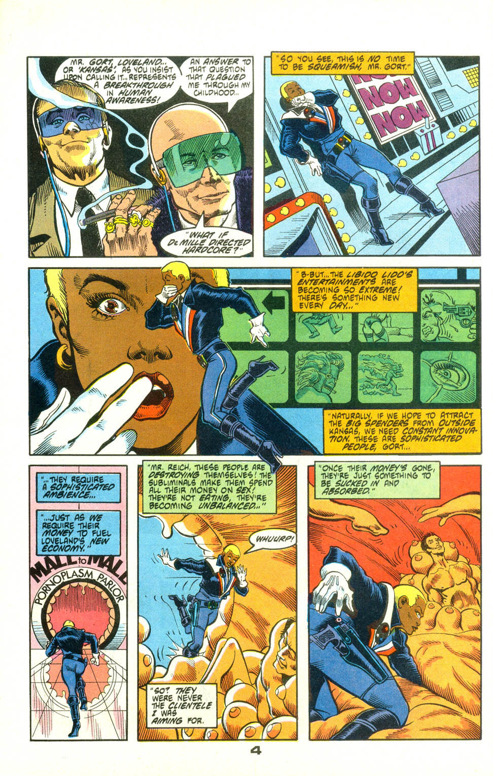 Read online American Flagg! comic -  Issue #25 - 27
