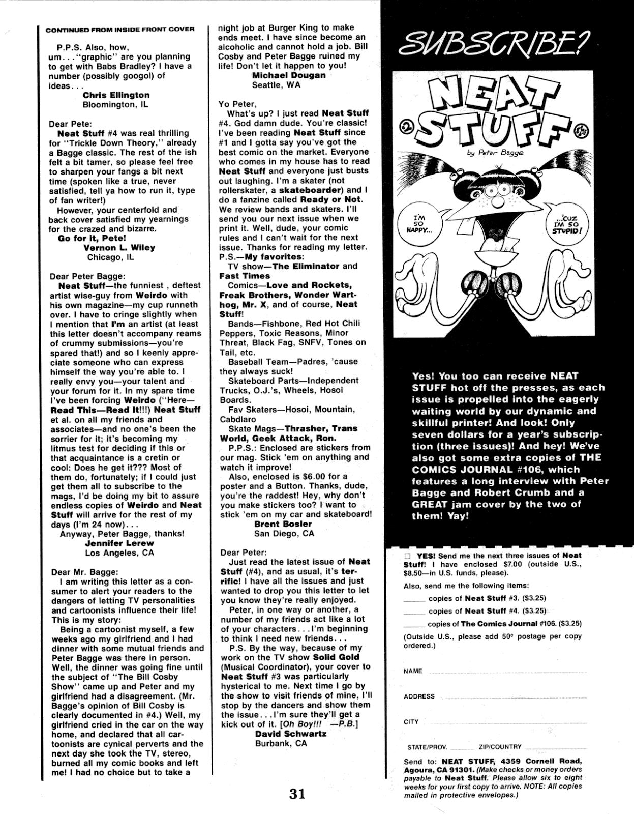 Read online Neat Stuff comic -  Issue #5 - 33