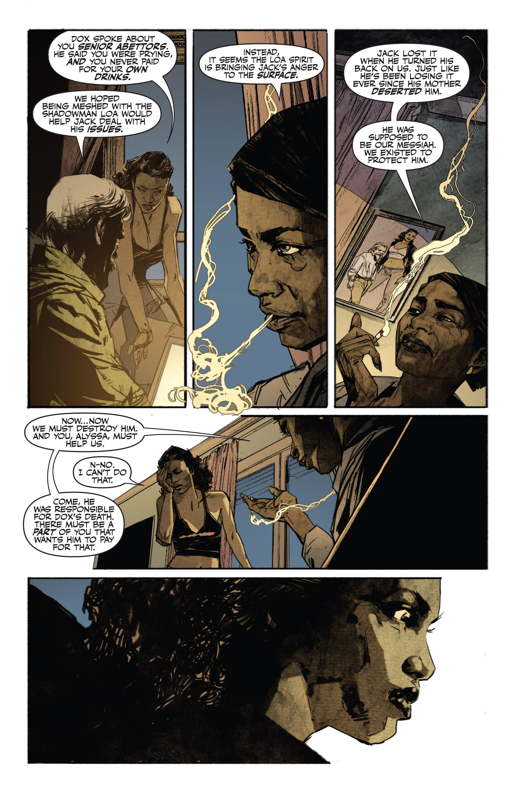 Read online Shadowman (2012) comic -  Issue #13 - 6