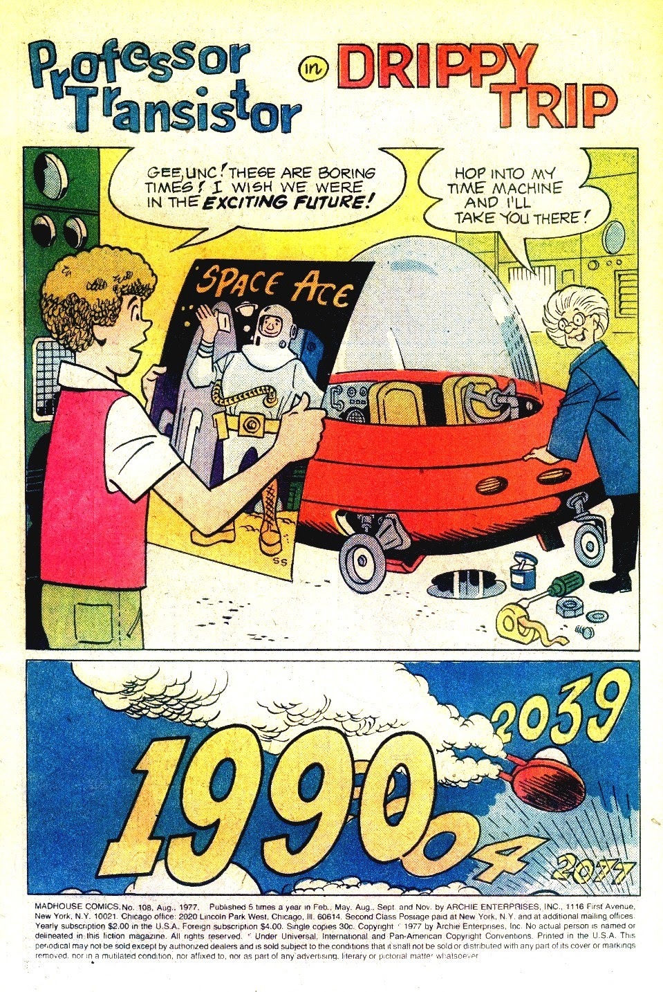 Read online Madhouse Comics comic -  Issue #108 - 3