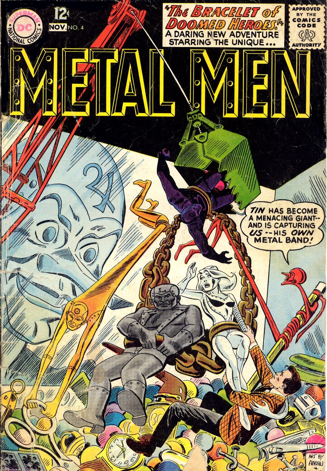Metal Men (1963) issue 4 - Page 1