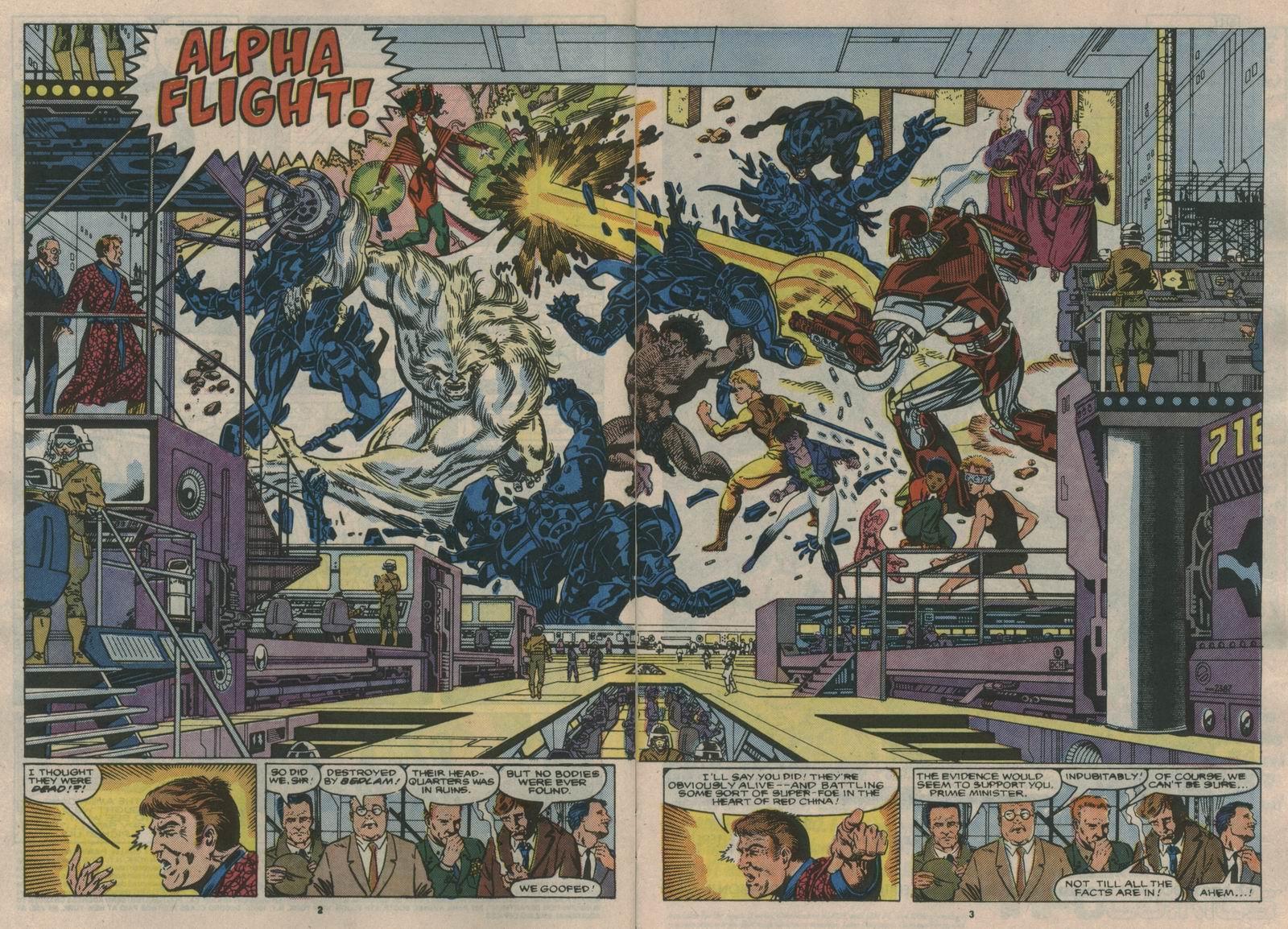 Read online Alpha Flight (1983) comic -  Issue #60 - 3