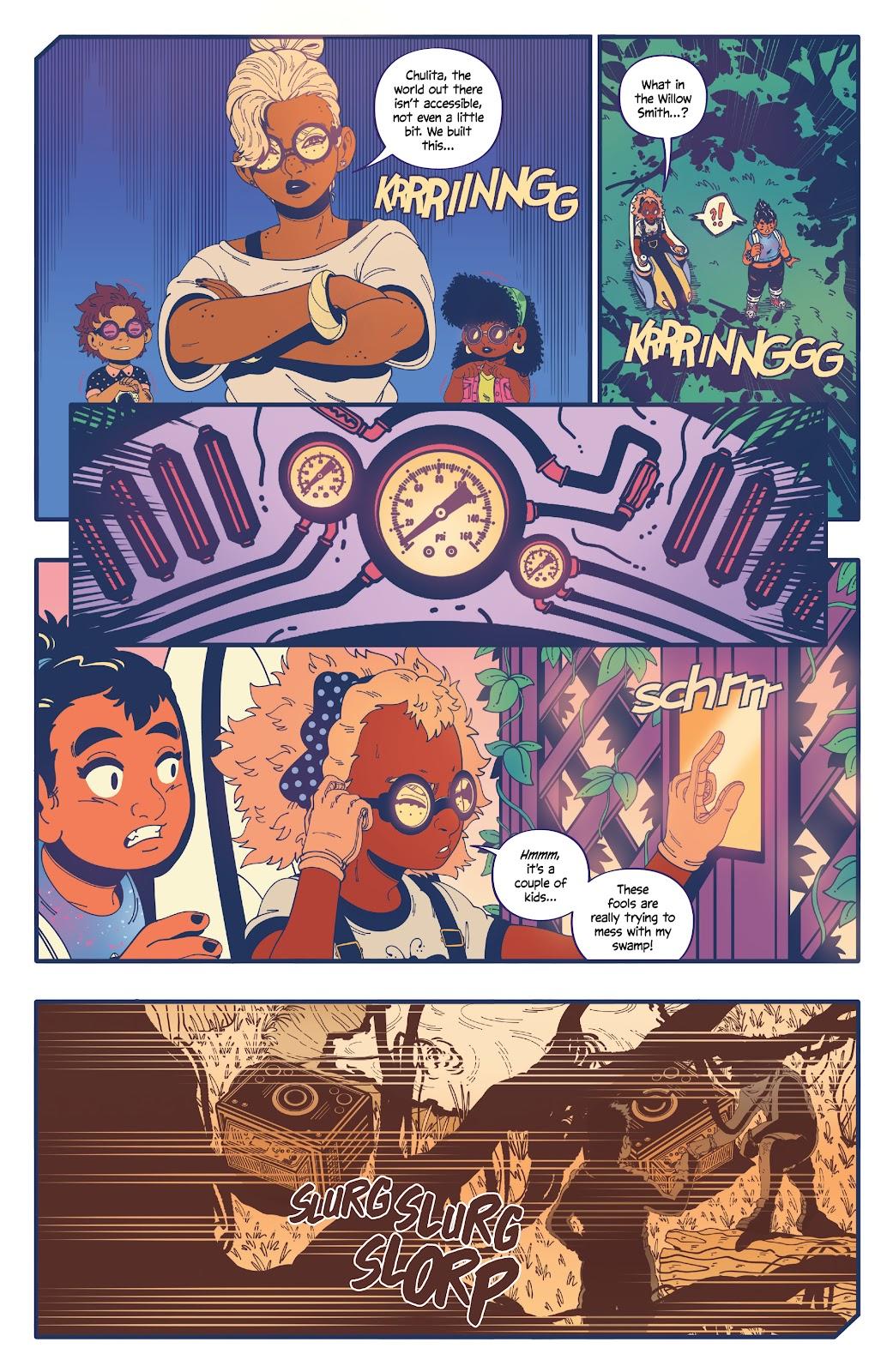 Read online b.b. free comic -  Issue #2 - 19