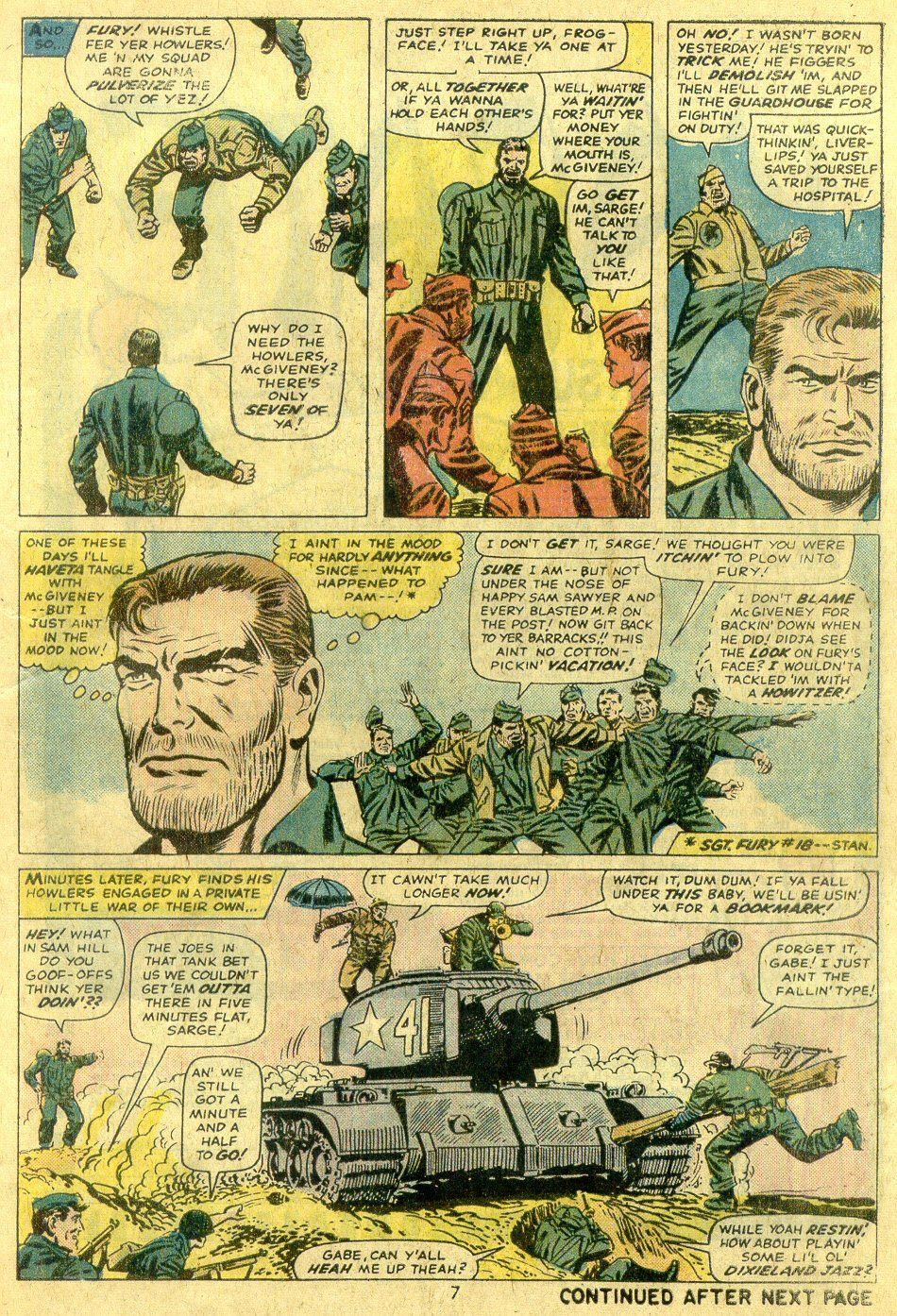 Read online Sgt. Fury comic -  Issue #122 - 9