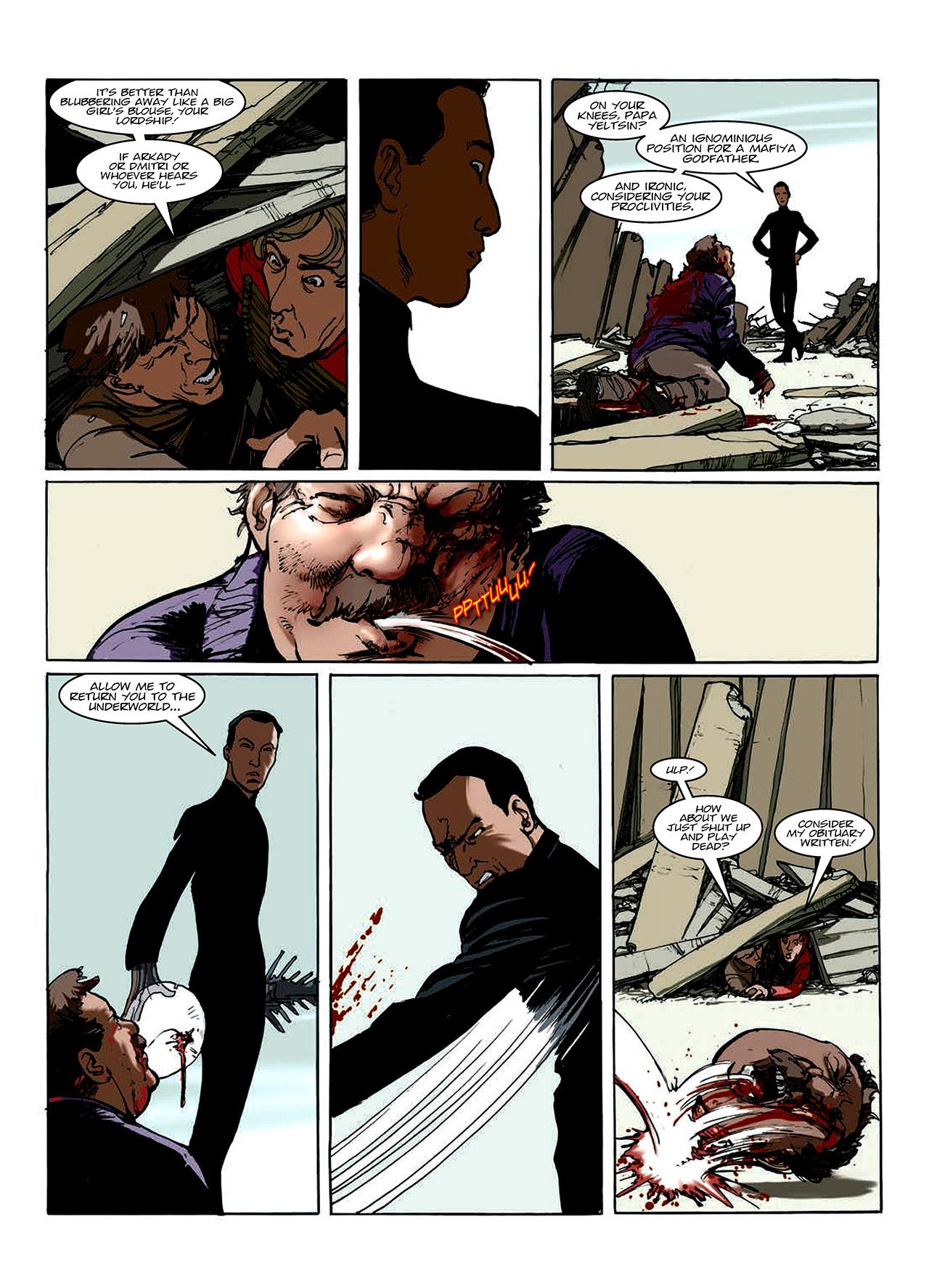 Read online Nikolai Dante comic -  Issue # TPB 10 - 104