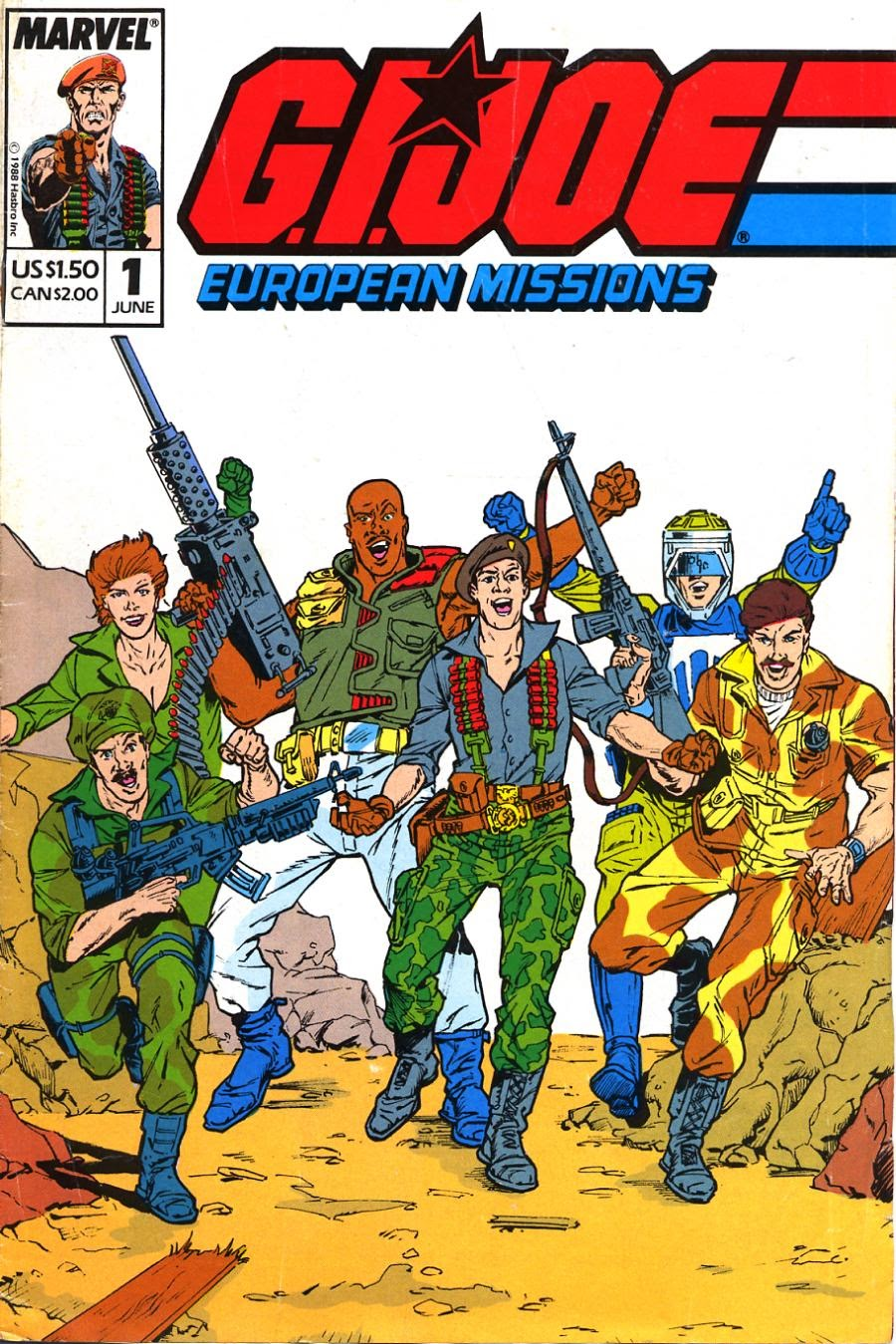 G.I. Joe European Missions issue 1 - Page 1