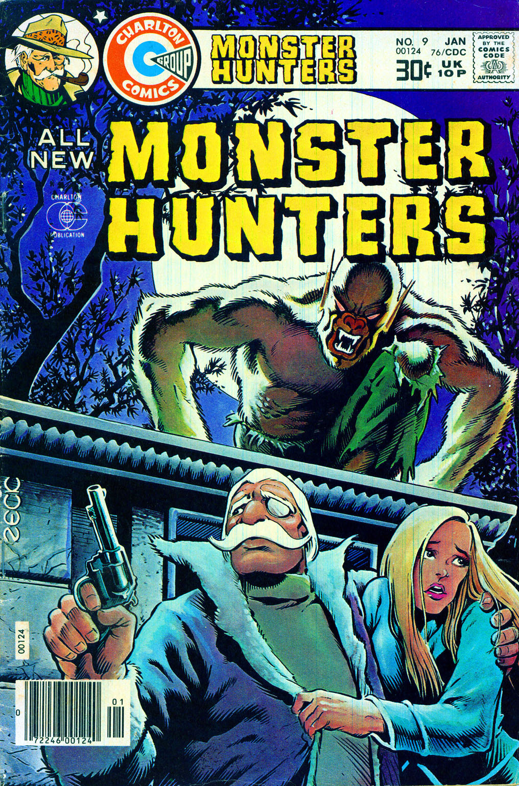 Monster Hunters issue 9 - Page 1