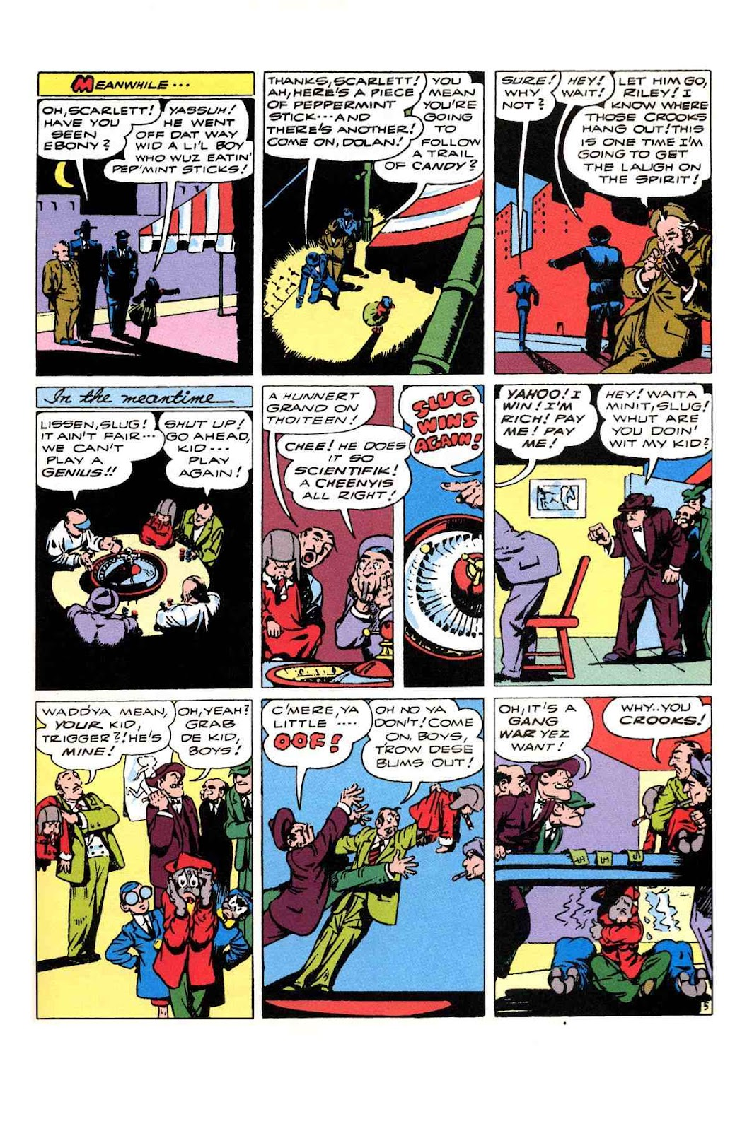 Read online Will Eisner's The Spirit Archives comic -  Issue # TPB 3 (Part 2) - 18