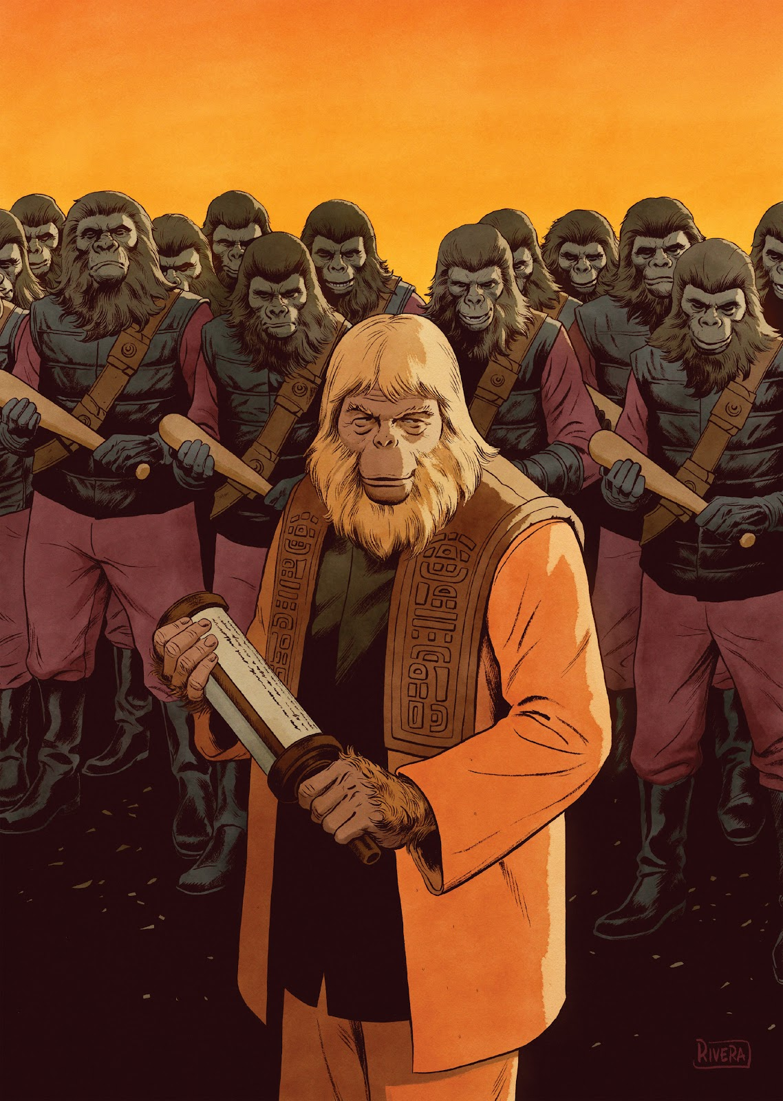 Read online Planet of the Apes Artist Tribute comic -  Issue # TPB - 83