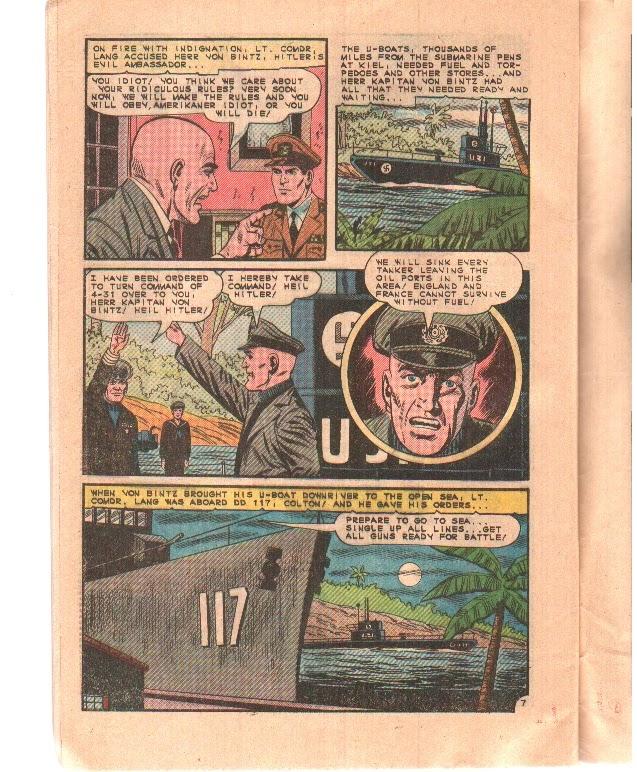 Read online Fightin' Navy comic -  Issue #122 - 32