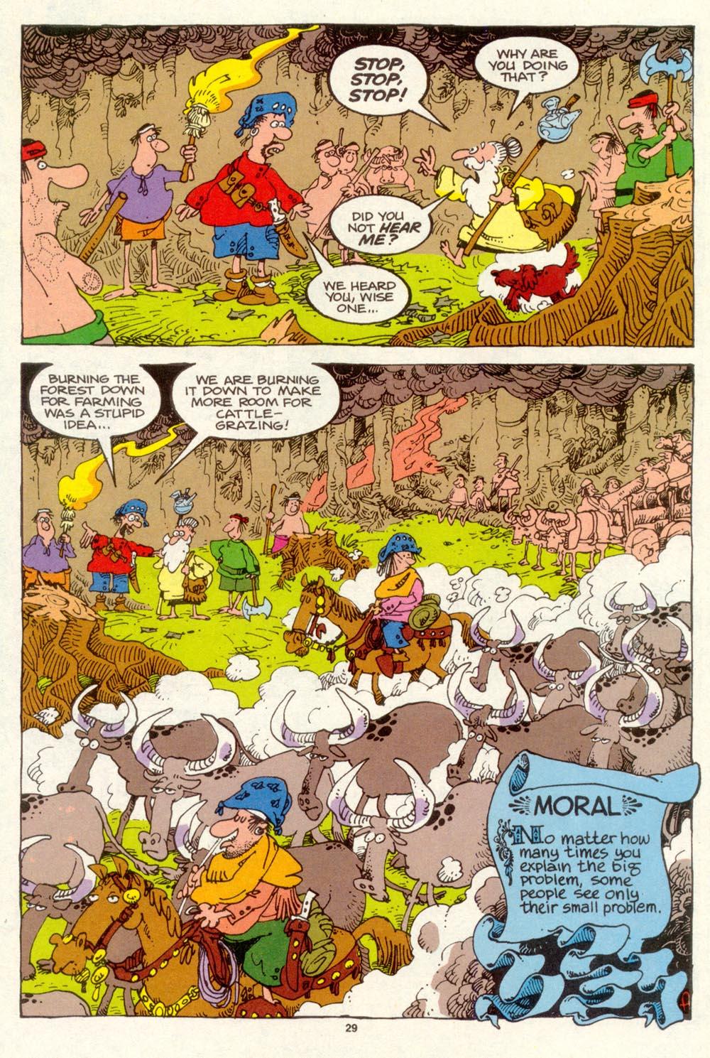 Read online Sergio Aragonés Groo the Wanderer comic -  Issue #93 - 30