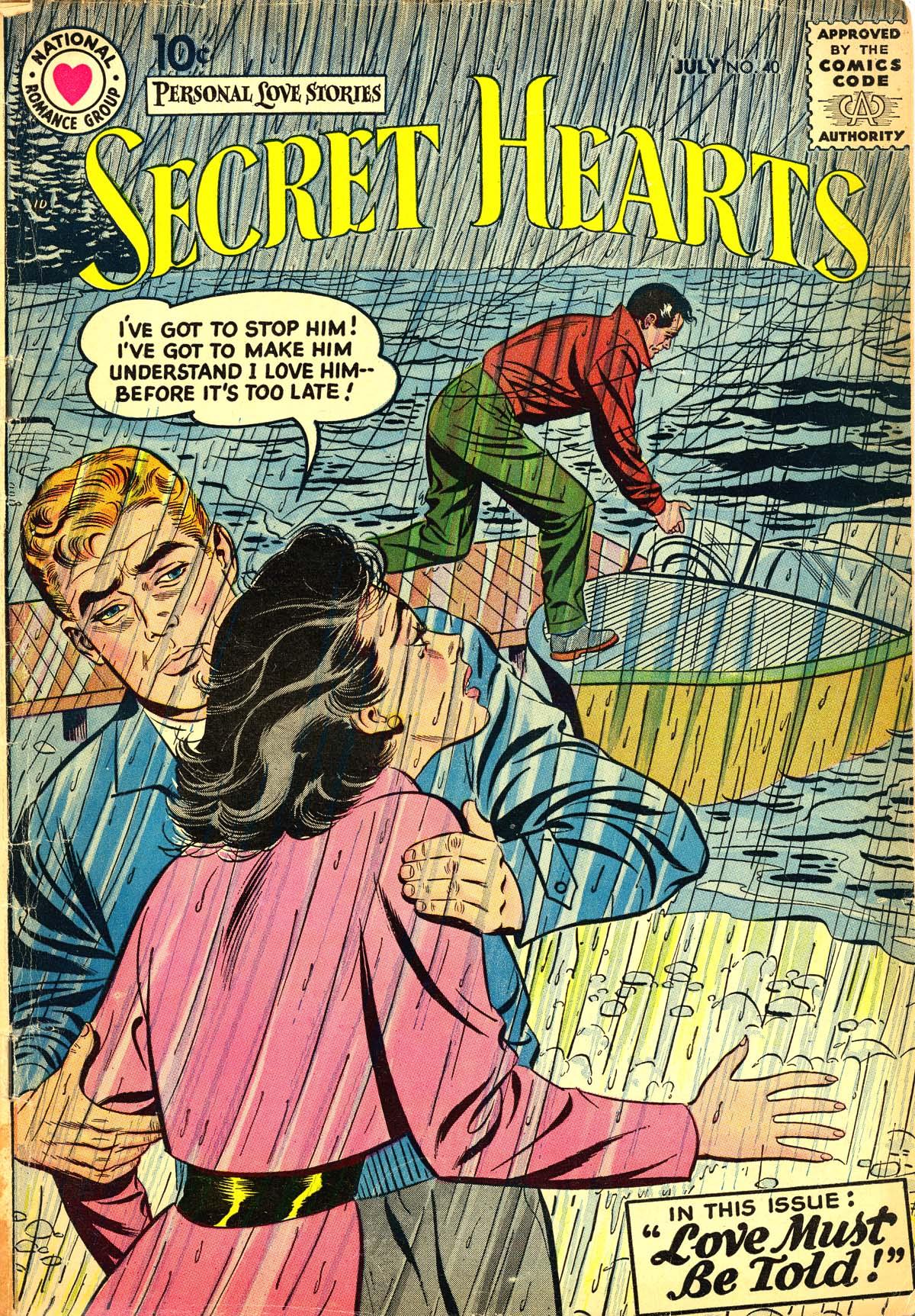 Read online Secret Hearts comic -  Issue #40 - 1