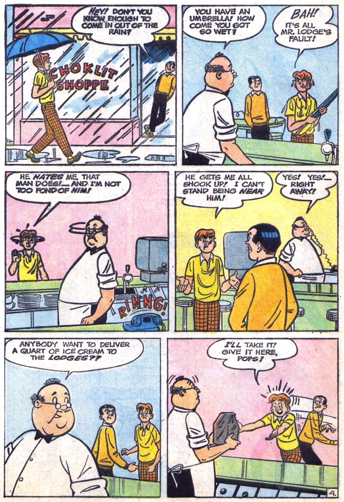 Read online Archie (1960) comic -  Issue #142 - 16