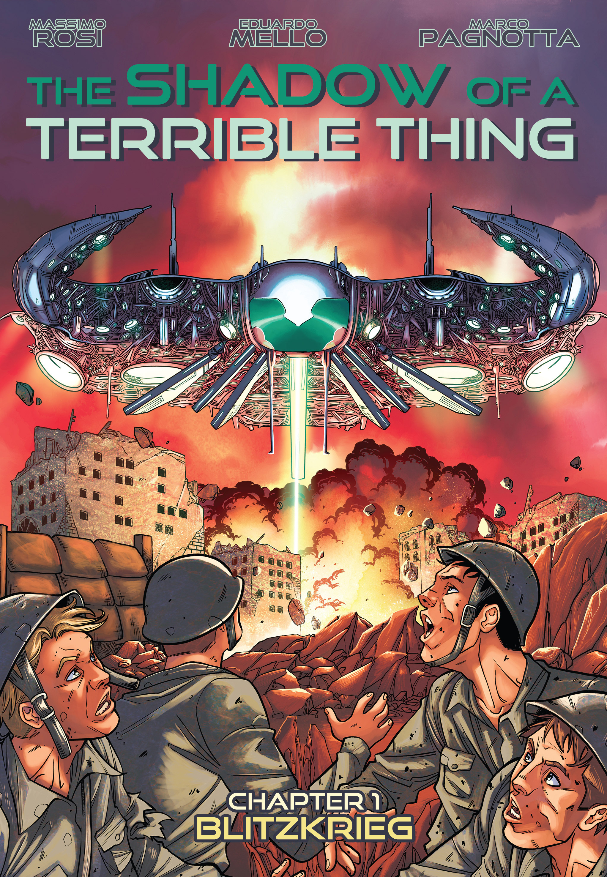Read online The Shadow of a Terrible Thing comic -  Issue # TPB - 6