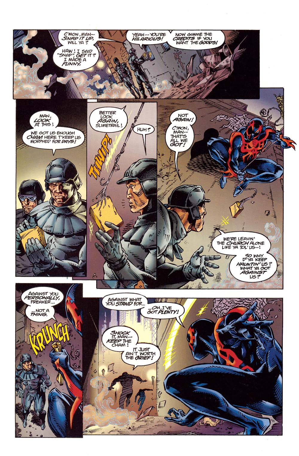 Read online 2099 Unlimited comic -  Issue #10 - 14