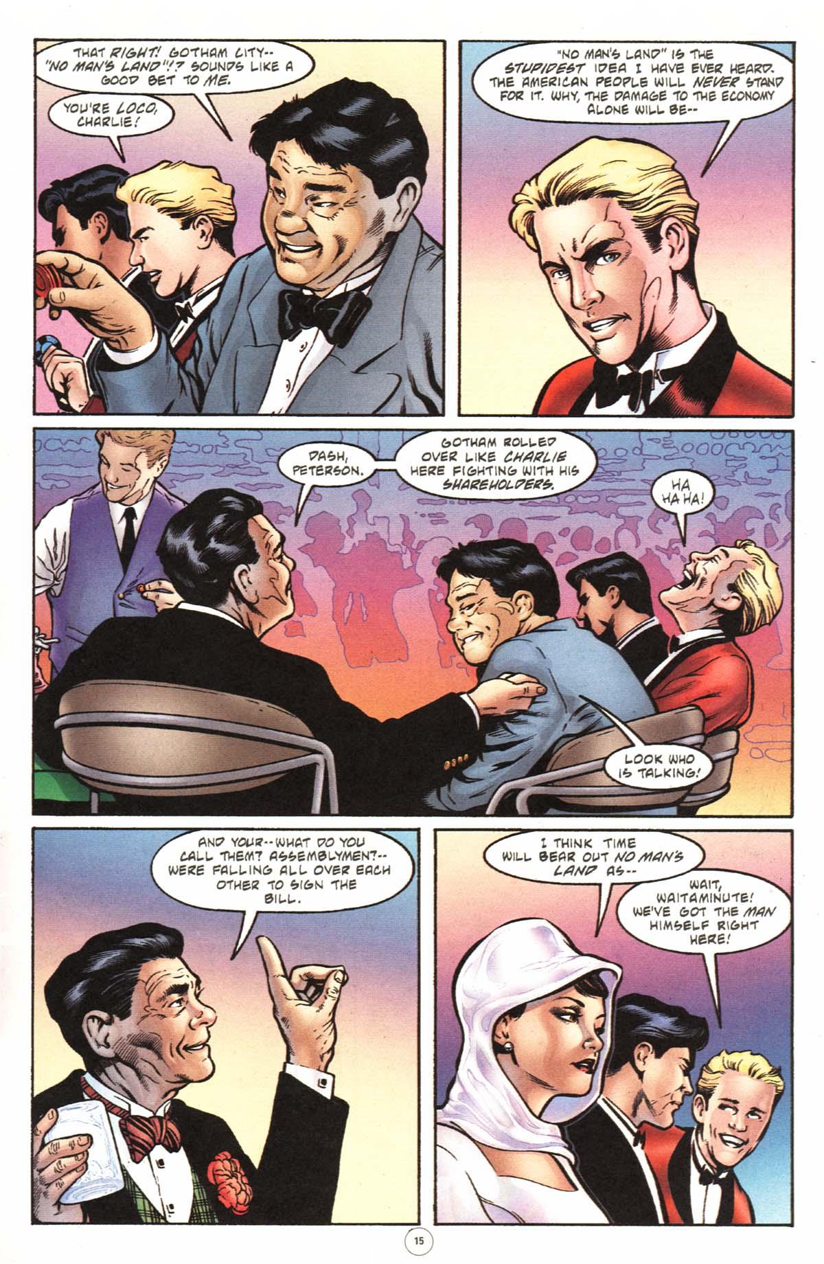 Read online Batman: No Man's Land comic -  Issue #0 - 11