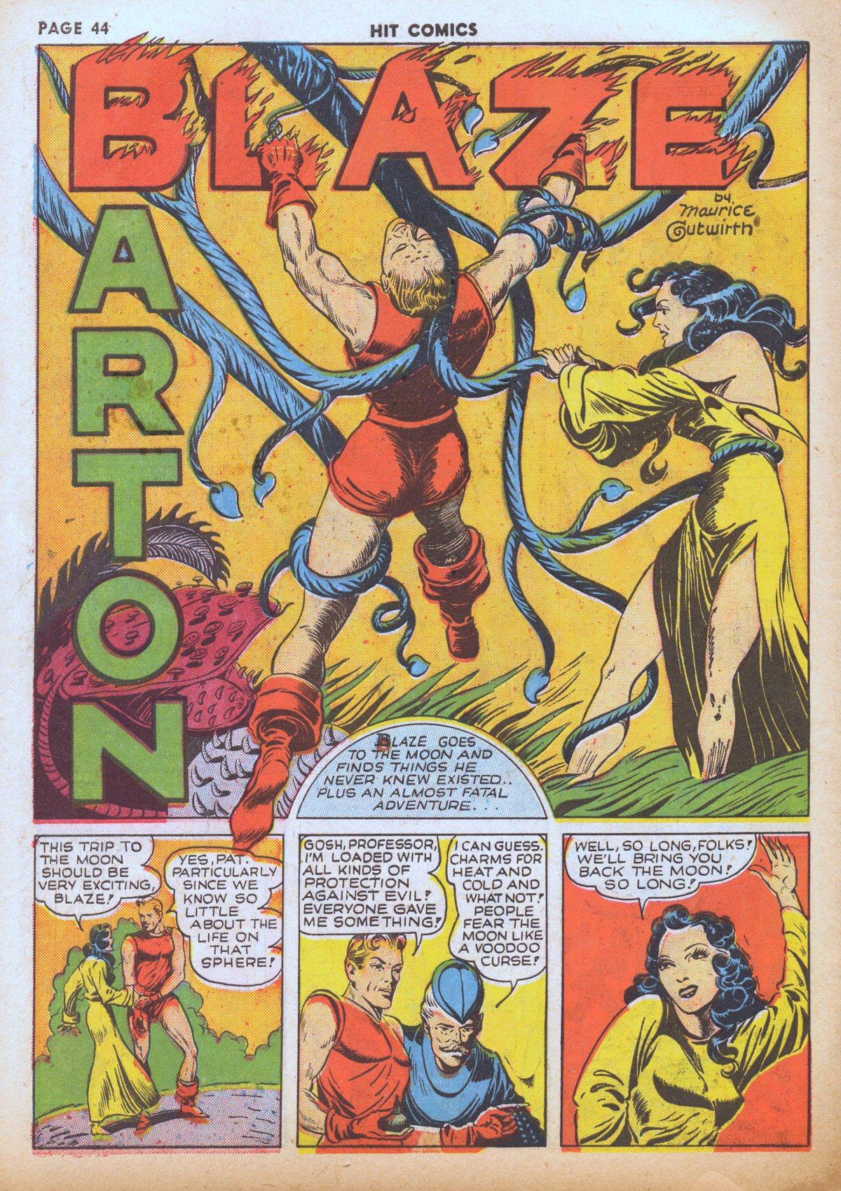Read online Hit Comics comic -  Issue #12 - 46