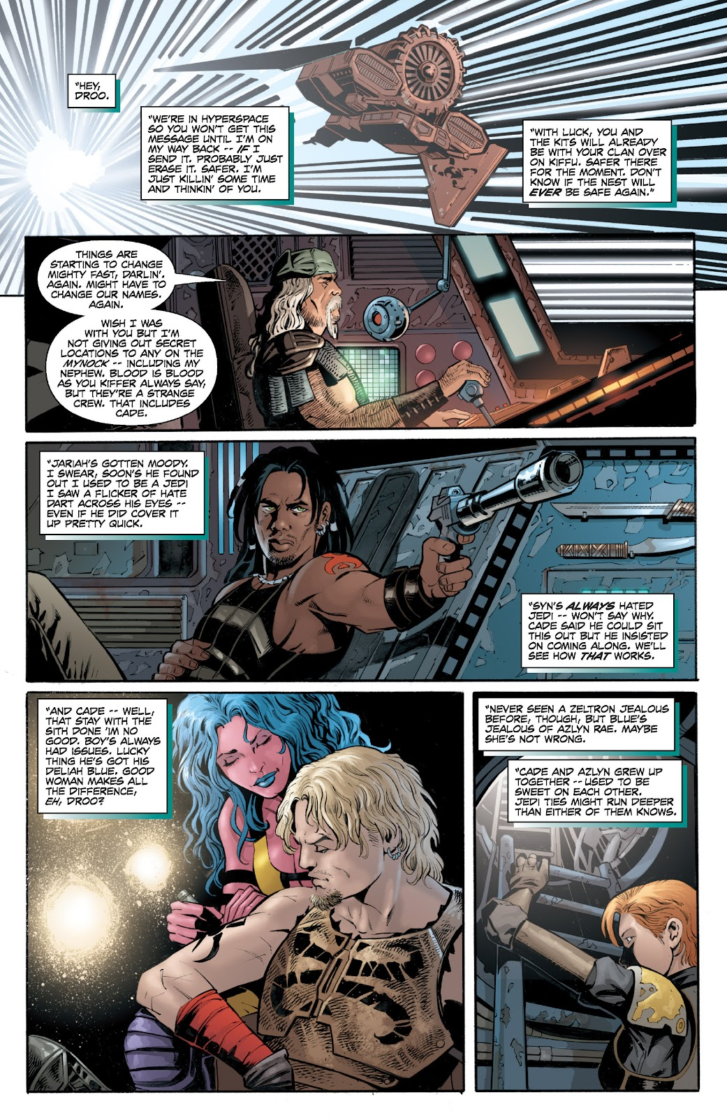Read online Star Wars Legends: Legacy - Epic Collection comic -  Issue # TPB 2 (Part 2) - 51