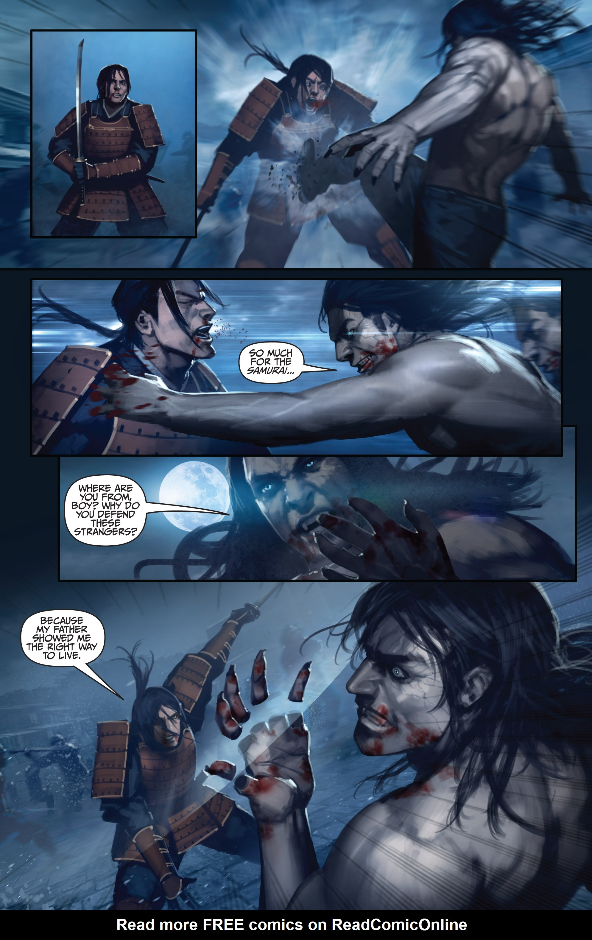 Read online Bushido: The Way of the Warrior comic -  Issue #5 - 17
