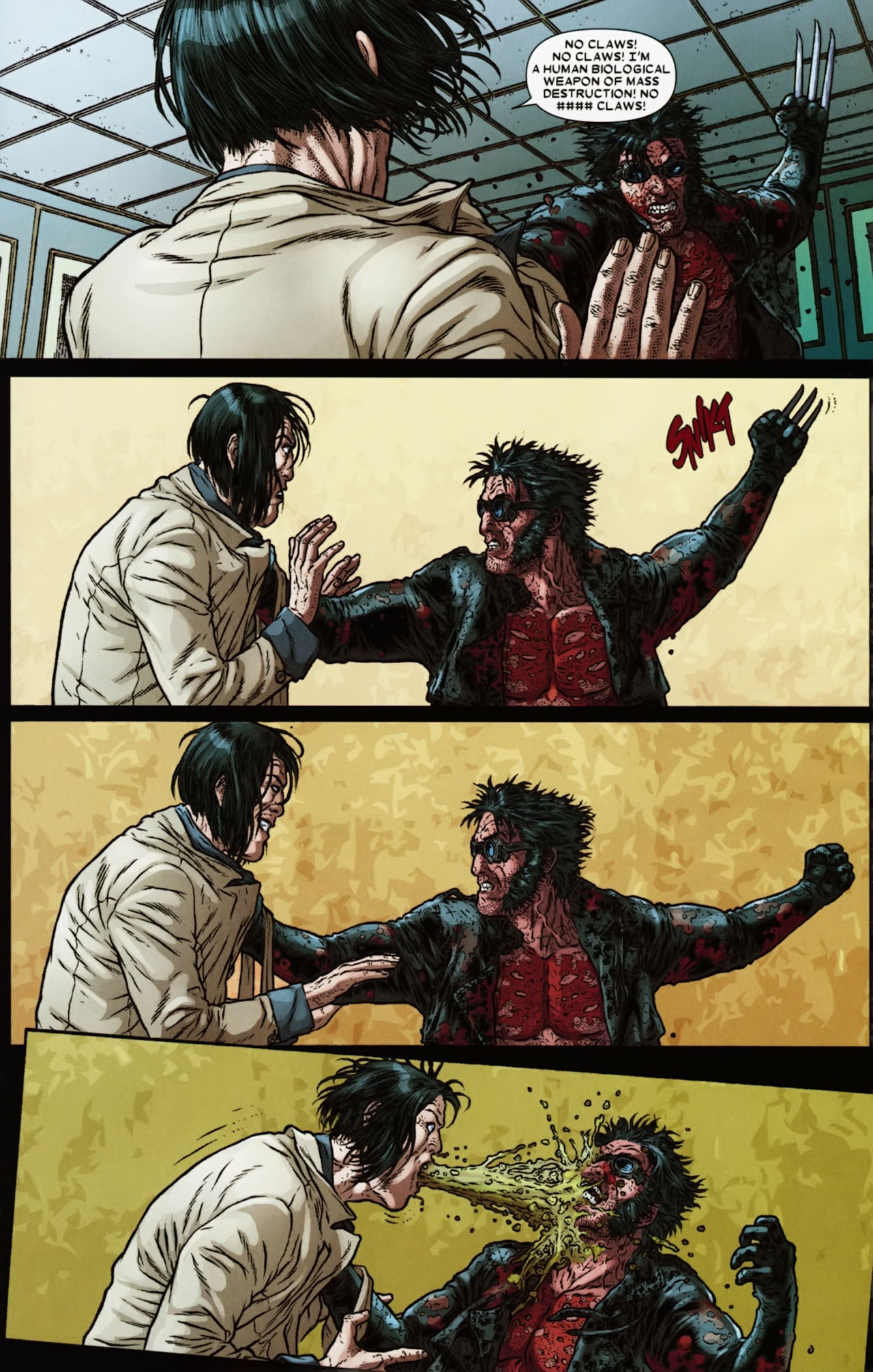 Read online Wolverine: The Best There Is comic -  Issue #6 - 19