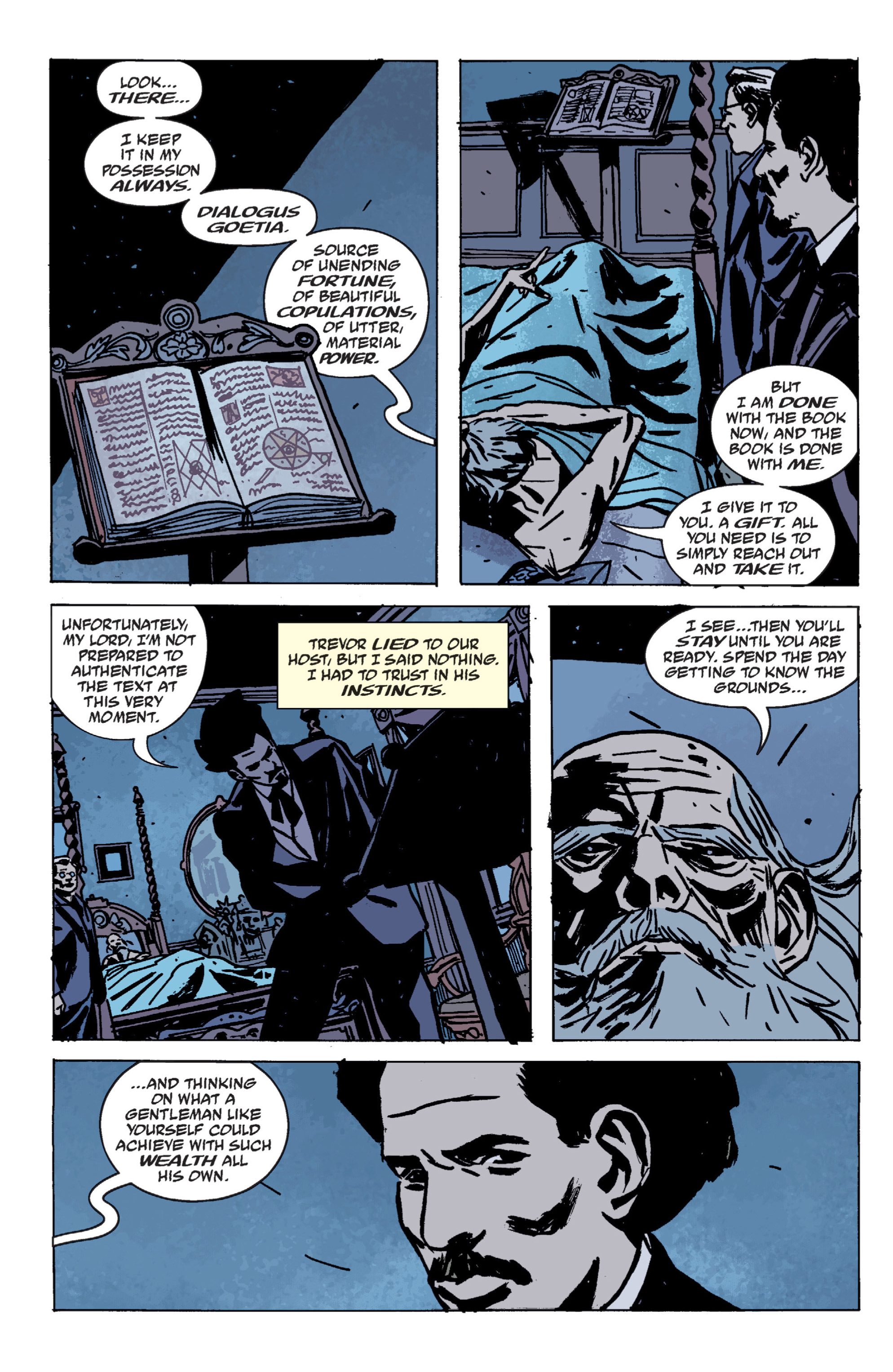 Read online B.P.R.D. (2003) comic -  Issue # TPB 9 - 140